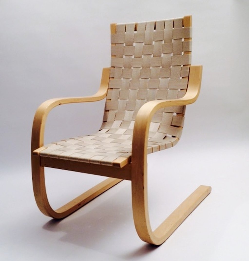 Model 406 Lounge Chair By Alvar Aalto For Artek 1960s 73552 # Muebles Sixties