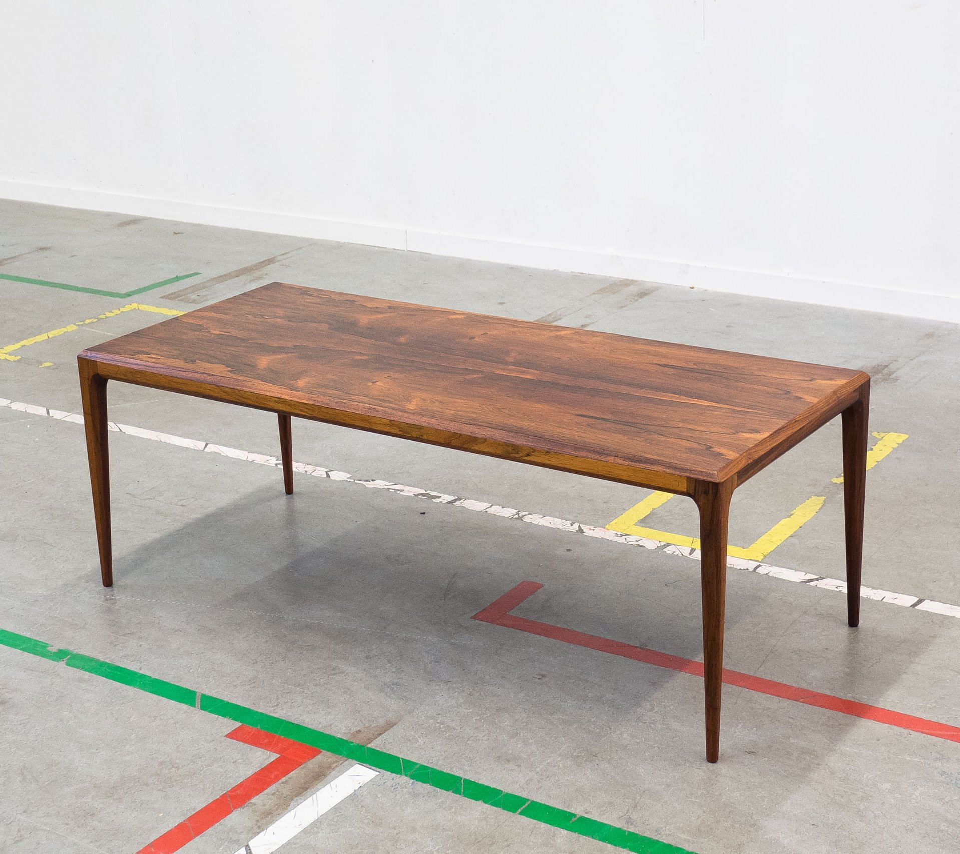 Coffee Table By Johannes Andersen For Cfc Silkeborg 1950s