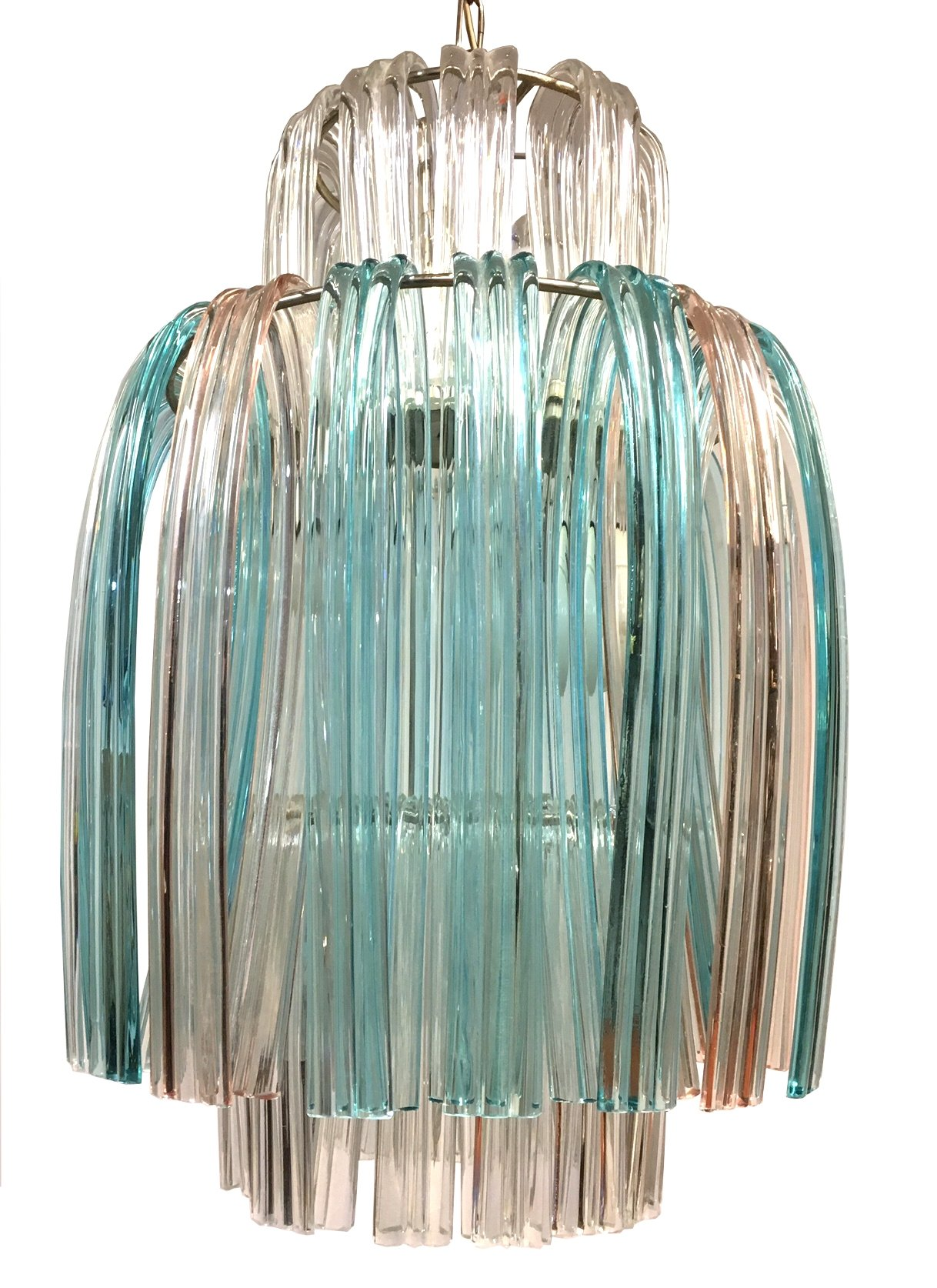 Murano glass Jellyfish chandelier 1960s