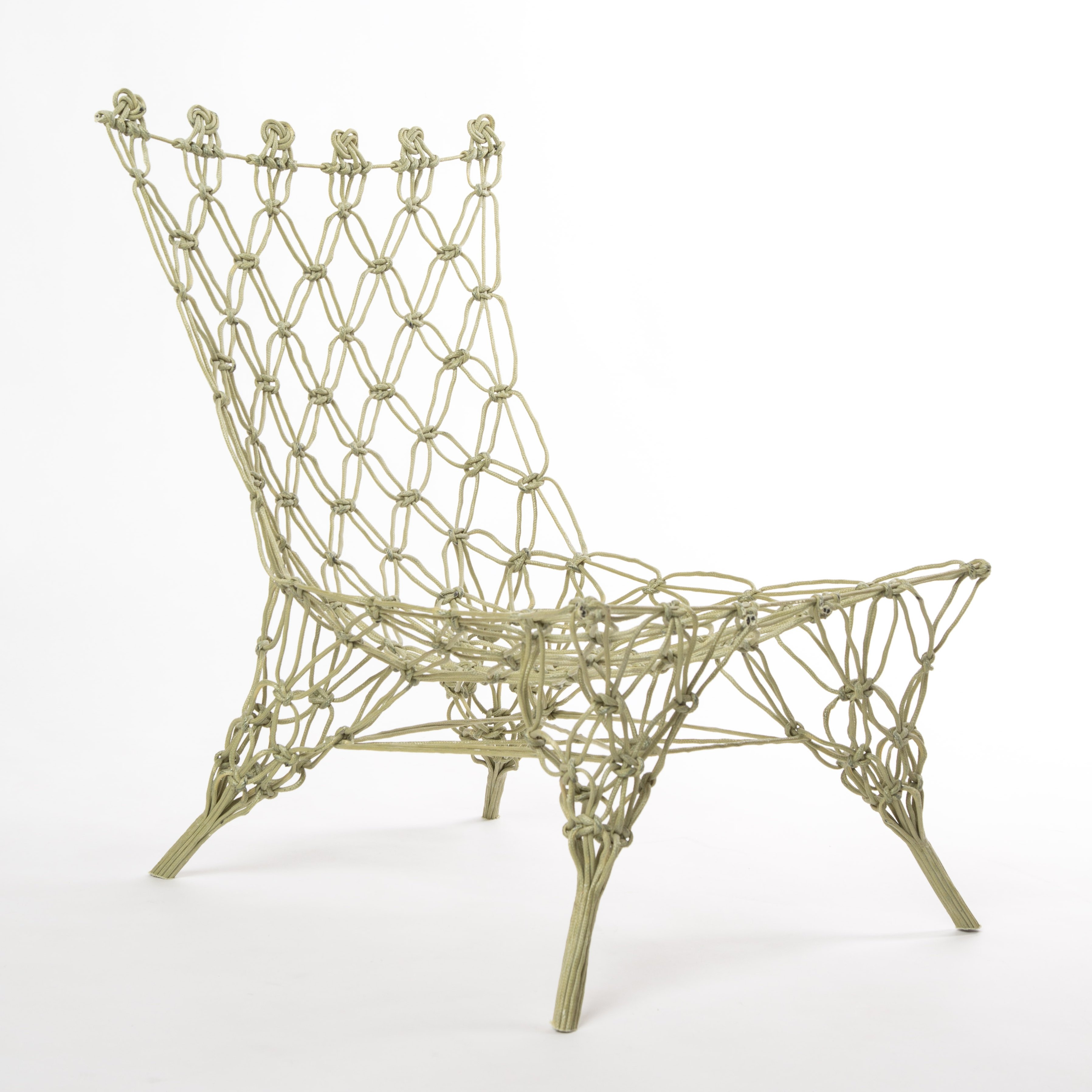 Marcel Wanders Design.Marcel Wanders Knotted Chair Of Carbon Aramide For Droog