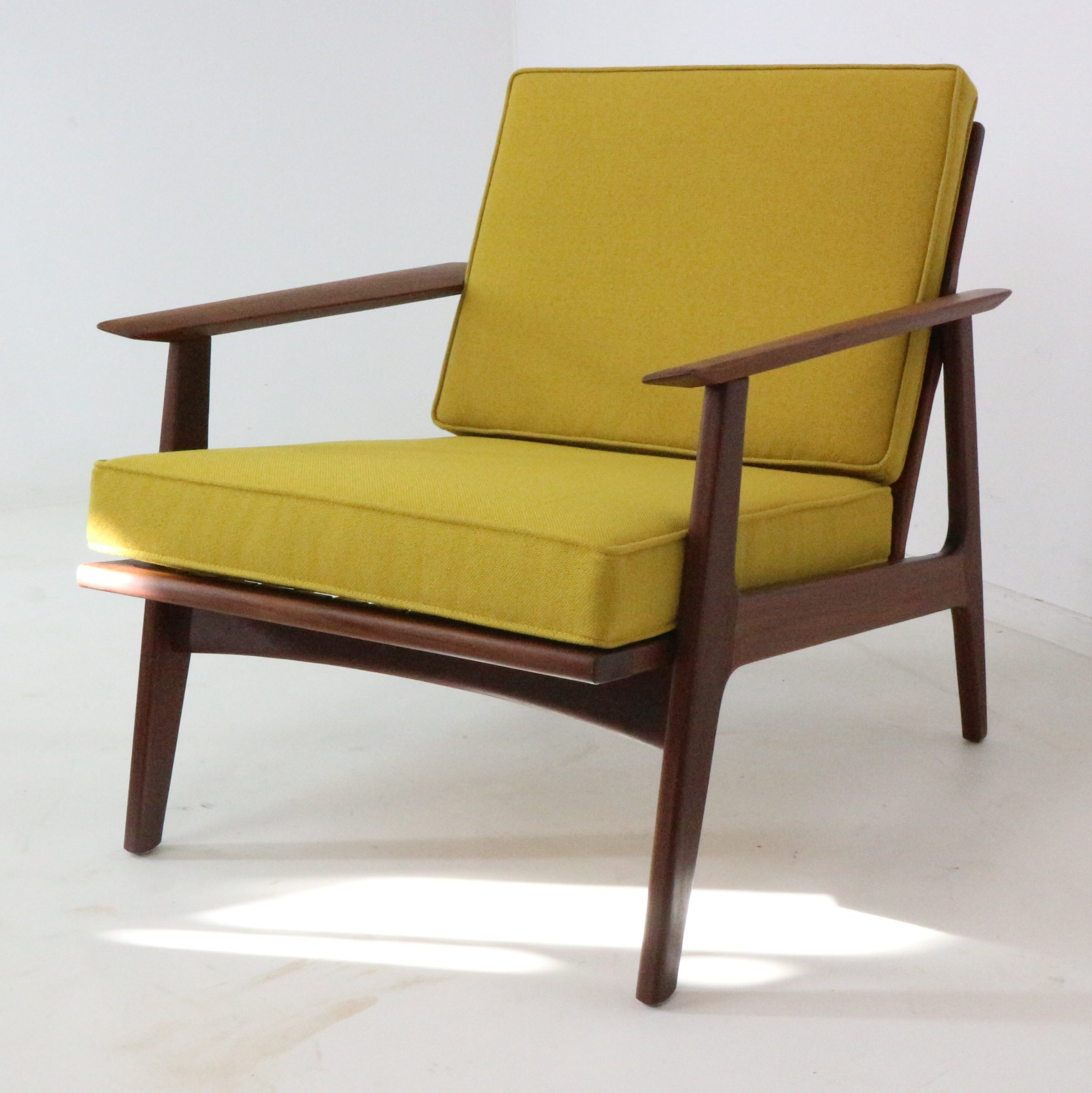 Modernist Danish Teak Armchair, 1960s