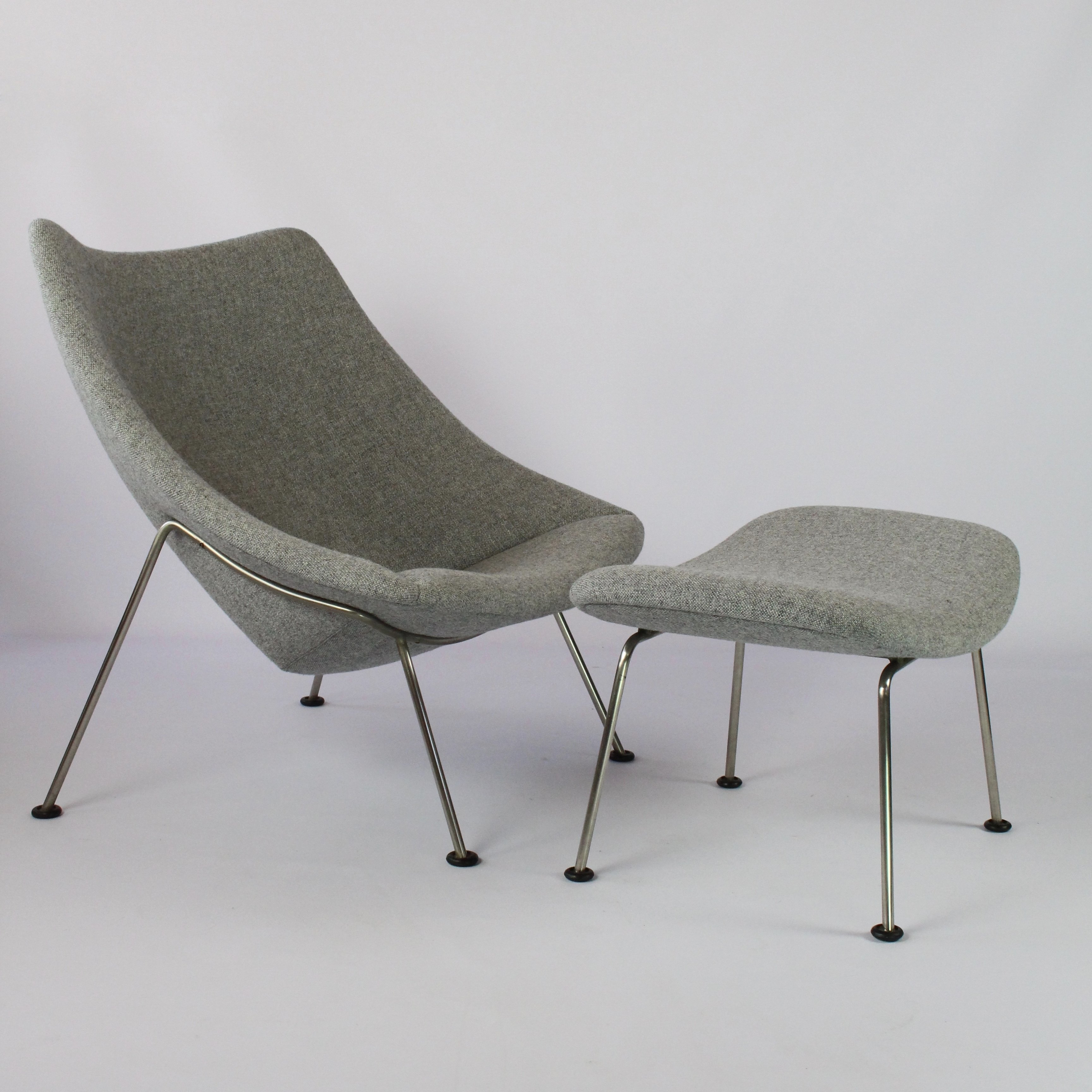 Large Oyster F157 Lounge Chair By Pierre Paulin For Artifort 1950s