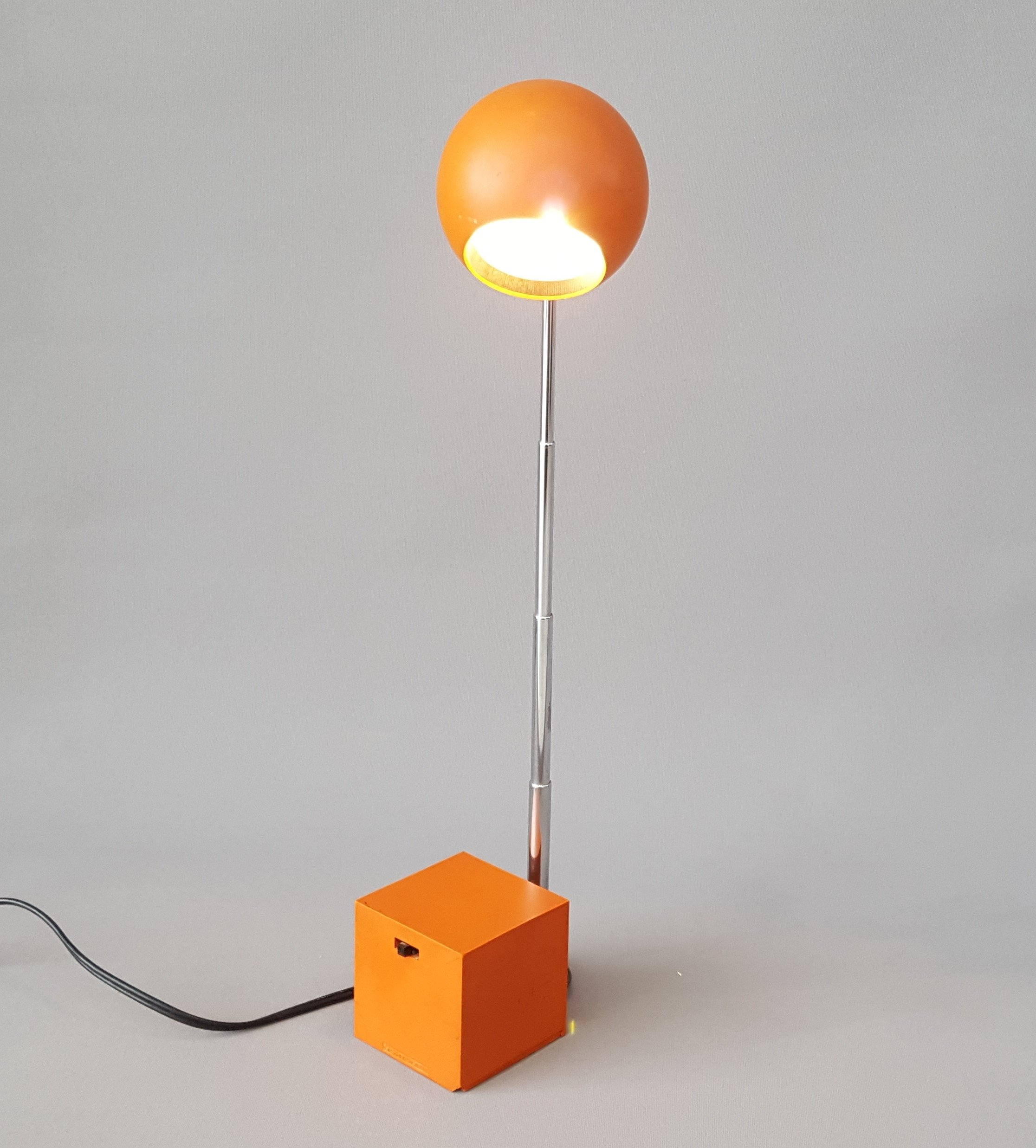Desk Lamp By Michael Lax For Lightolier Usa