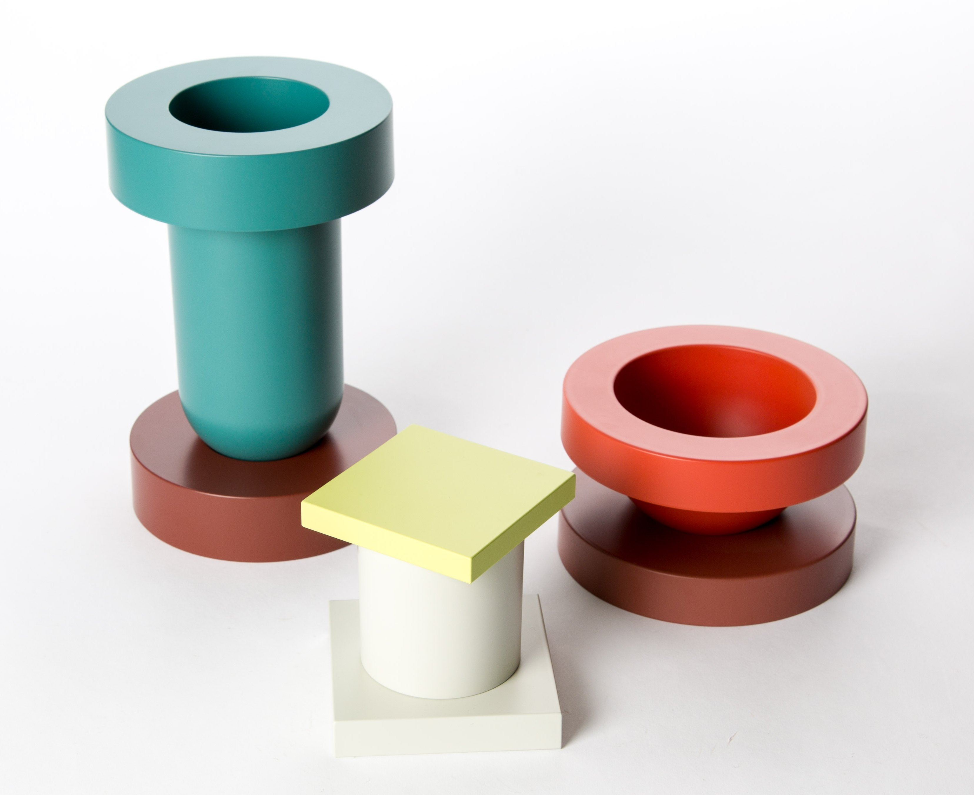 ettore sottsass  A set of Japanese urushi lacquered objects by Ettore Sottsass for ...