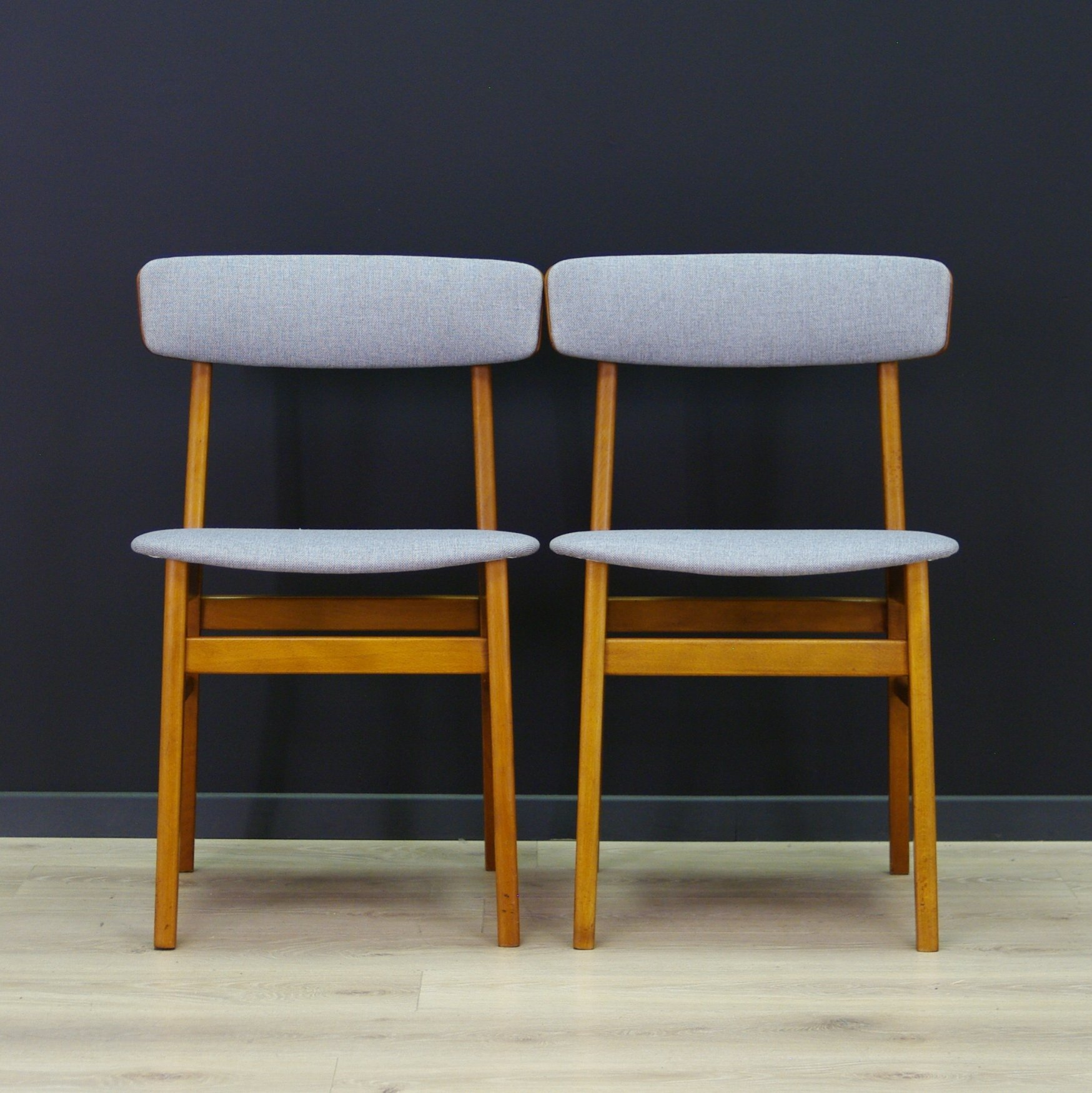 Magnificent Pair Of Farstrup Mobler Dining Chairs 1960S Squirreltailoven Fun Painted Chair Ideas Images Squirreltailovenorg