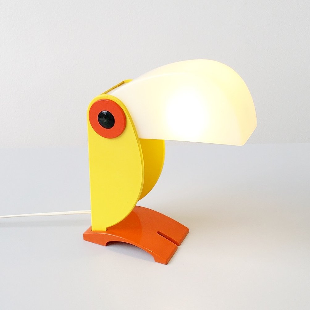 Tucan Desk Lamp By Old Timer Ferrari 1960s