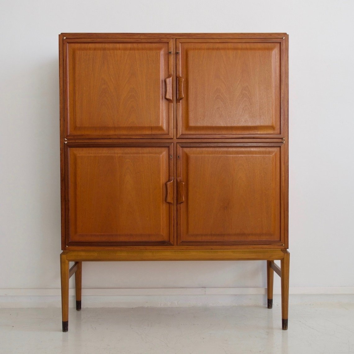 Axel Larsson Mahogany Cabinet With Four Frontal Doors