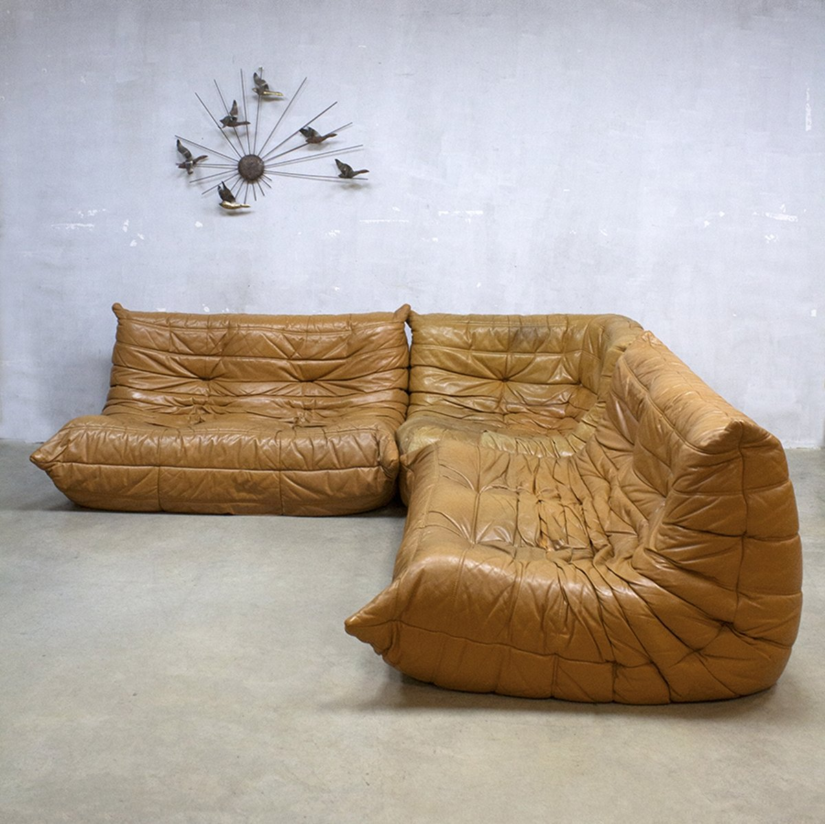 Attractive Togo Sofa By Michel Ducaroy For Ligne Roset, 1970s