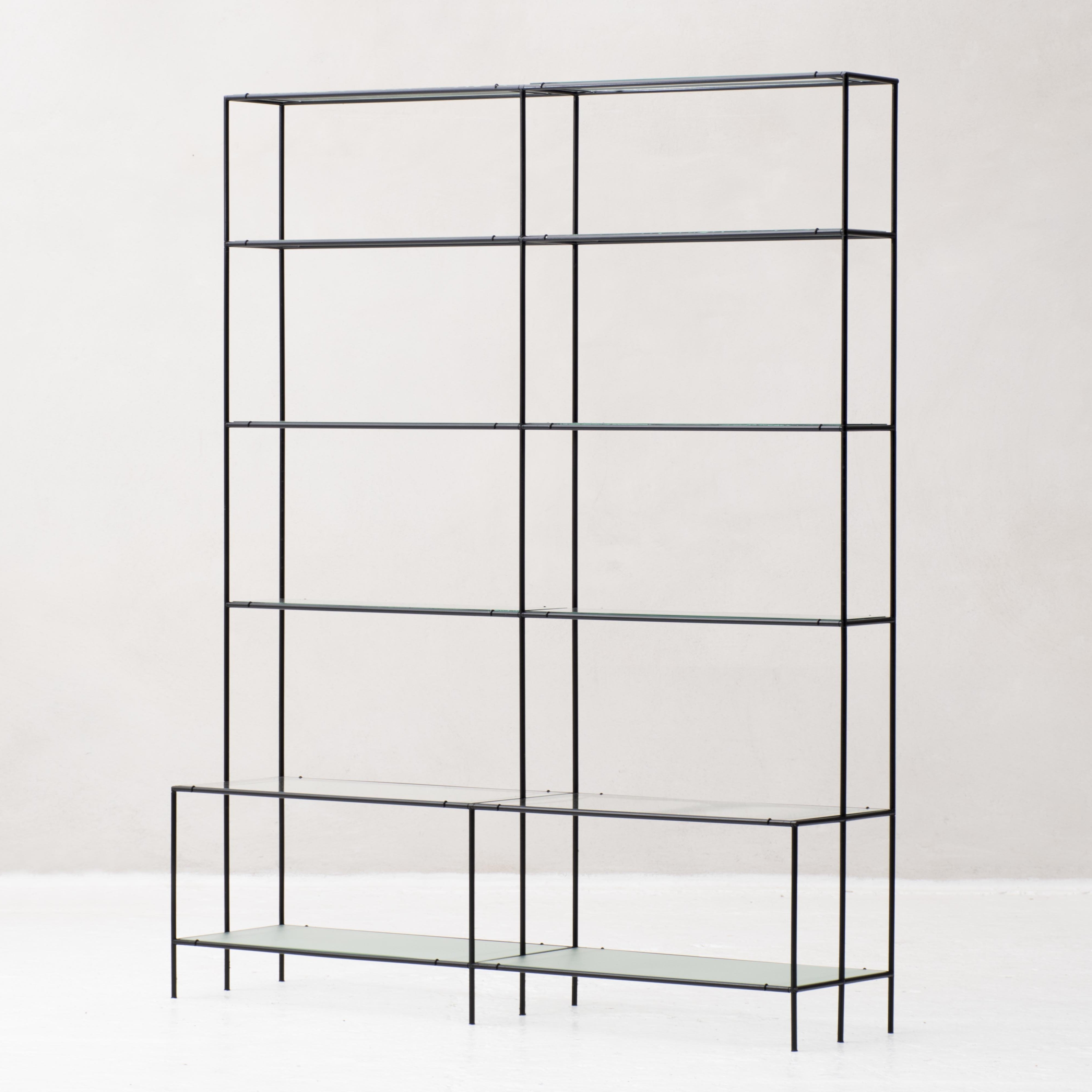 shelving system by poul cadovius model 39 abstracta