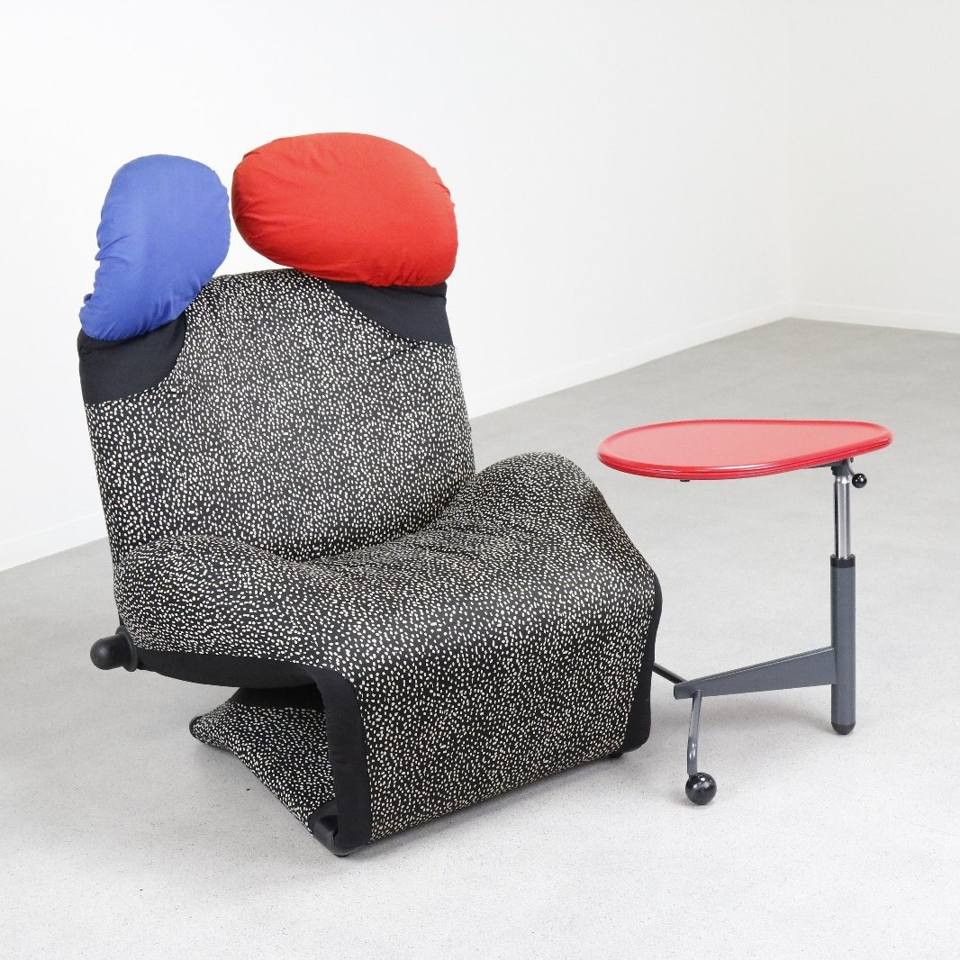 Wink Lounge Chair By Toshiyuki Kita For Cassina 1980s