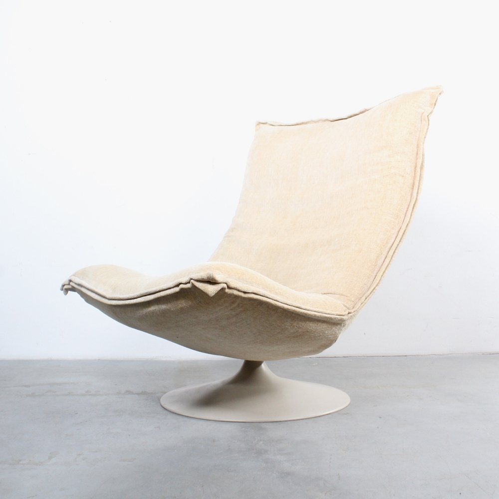 F980 Lounge Chair By Geoffrey Harcourt For Artifort, 1970s