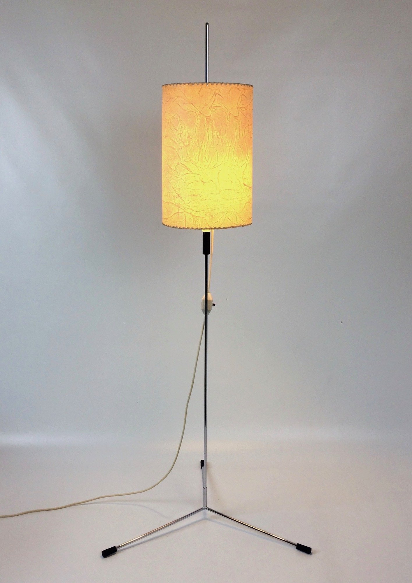 Infinitely height adjustable floor lamp by hans jrg walter josef infinitely height adjustable floor lamp by hans jrg walter josef kuntner 1960s mozeypictures Choice Image