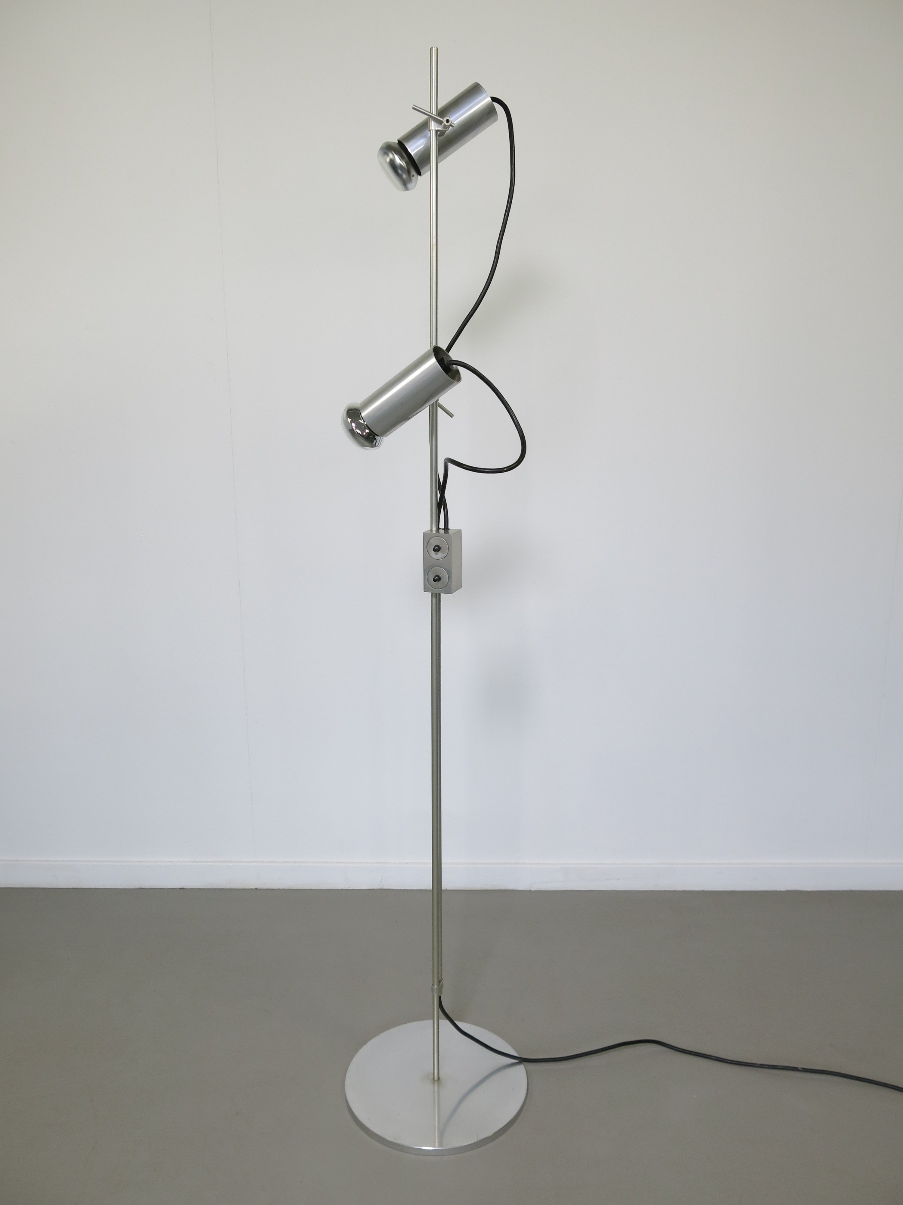 Floor lamp by peter nelson for architectural lighting ltd 1960s floor lamp by peter nelson for architectural lighting ltd 1960s aloadofball Image collections