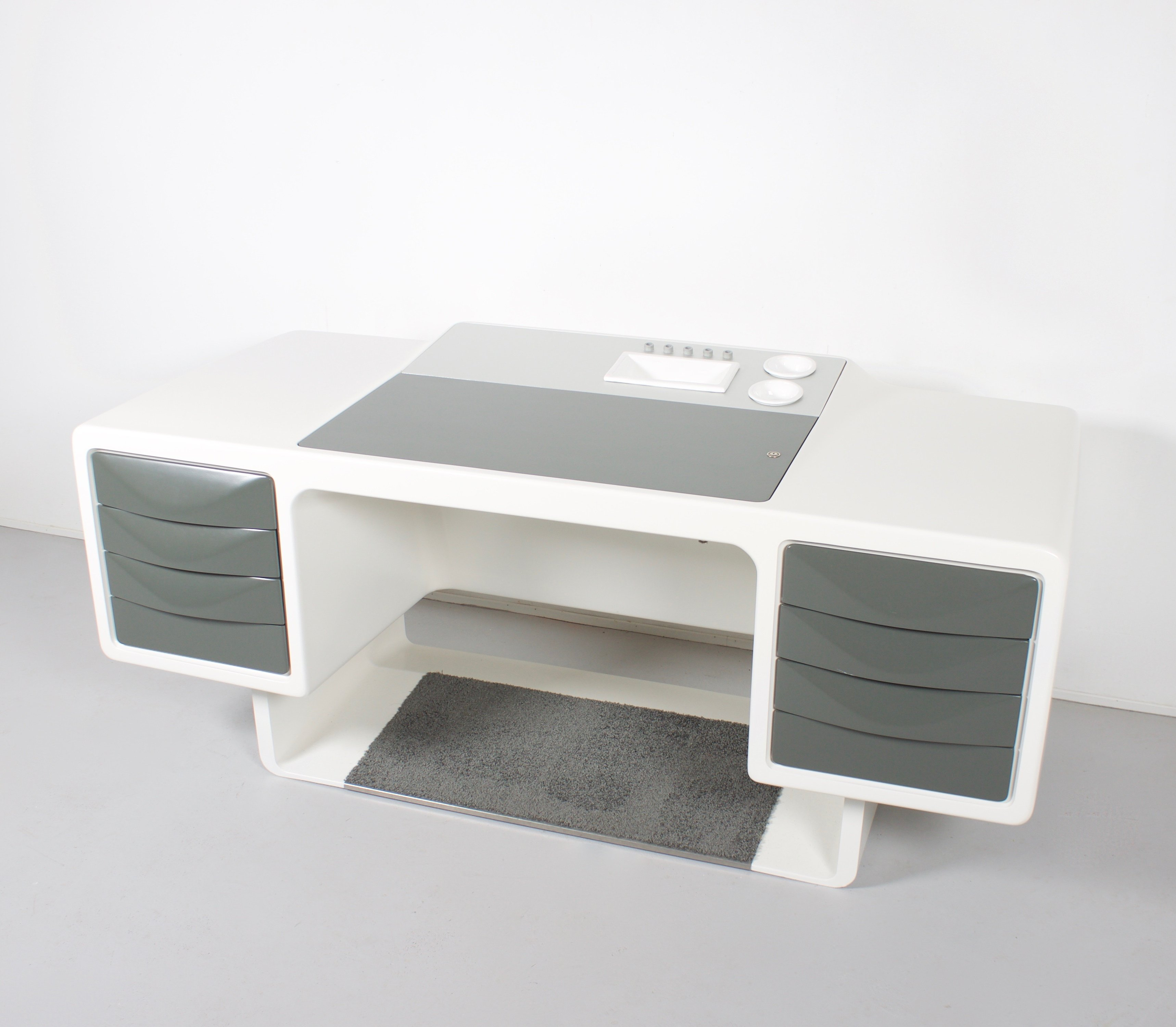 Space Age Desk By Ernest Igl For Wilhelm Werndl