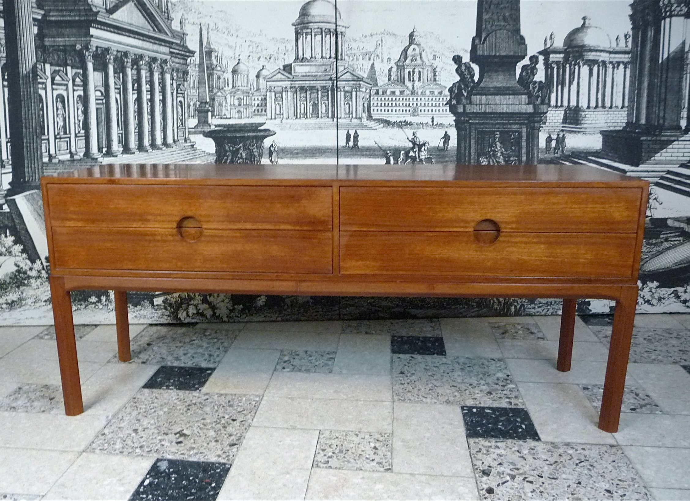 table danish sale set chest drawers teak of sideboard for
