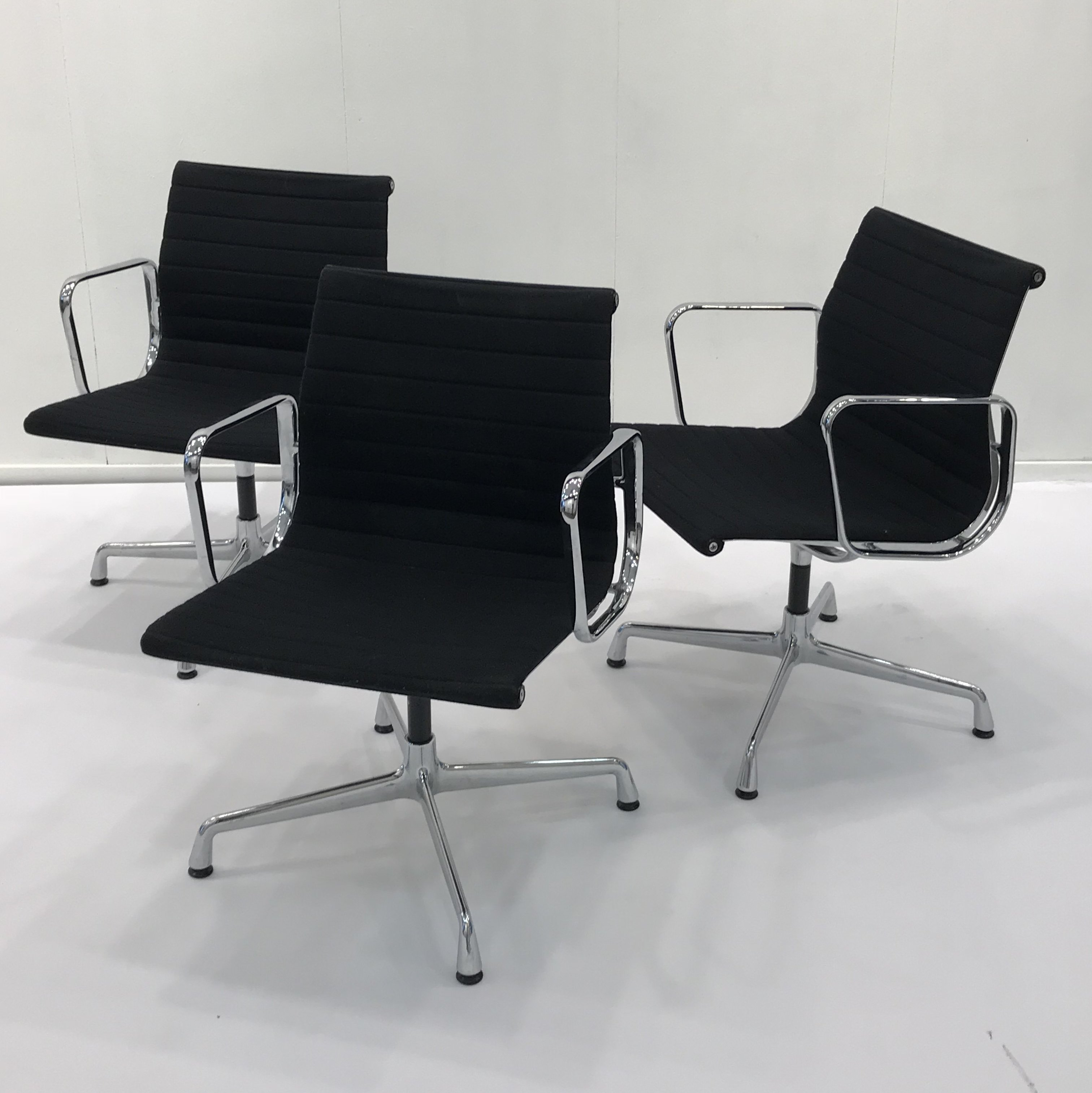 8 X EA108 Office Chair By Charles U0026 Ray Eames For Vitra, 1980s