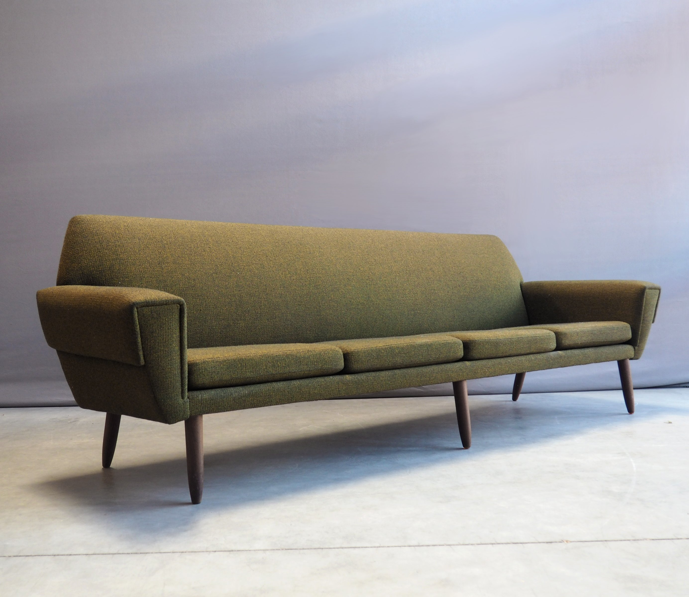 Danish 4 Seater Sofa From The 60