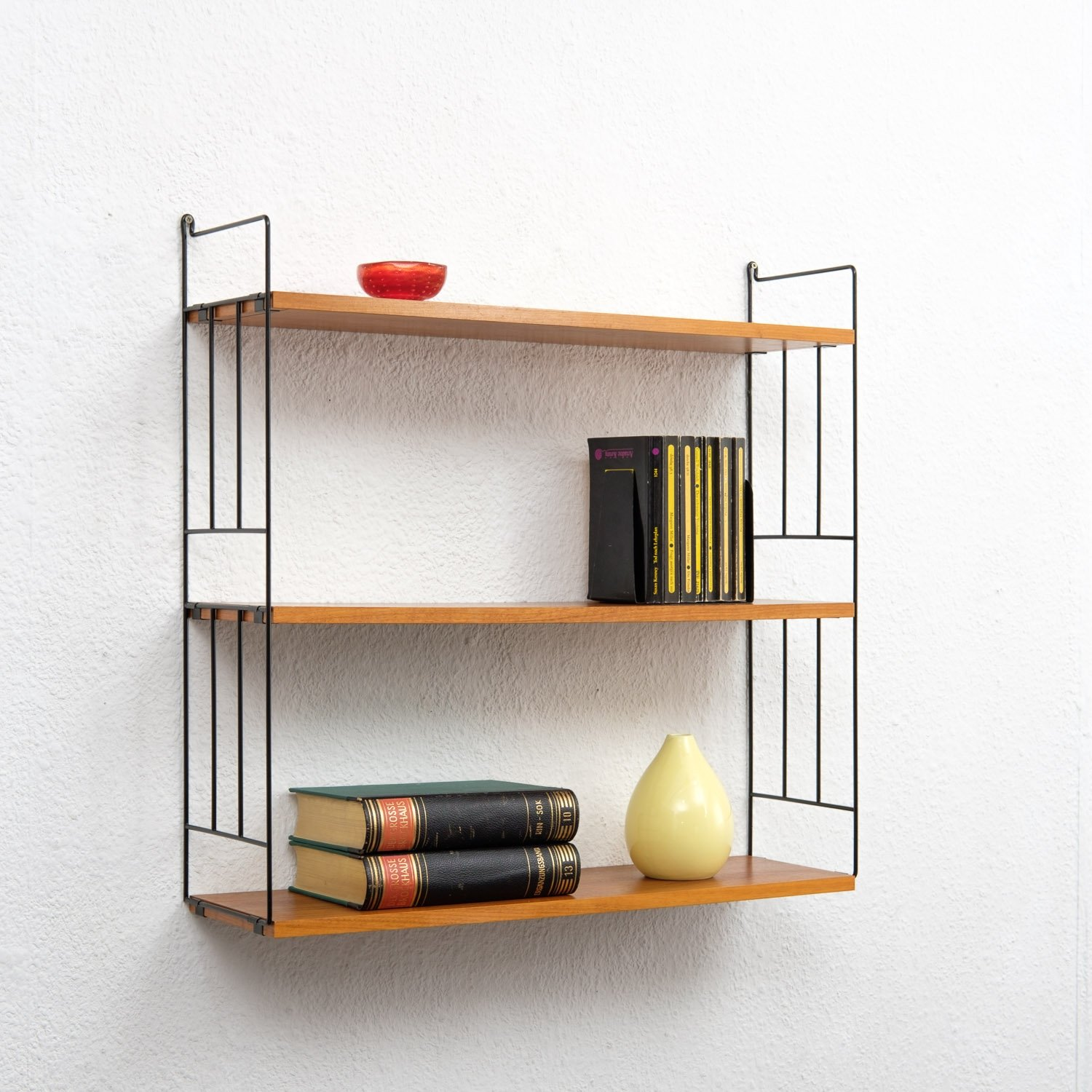 shelf wall ikea shelves hensvik leyko spaces en complete storage skoyro ekby kafe hemnes