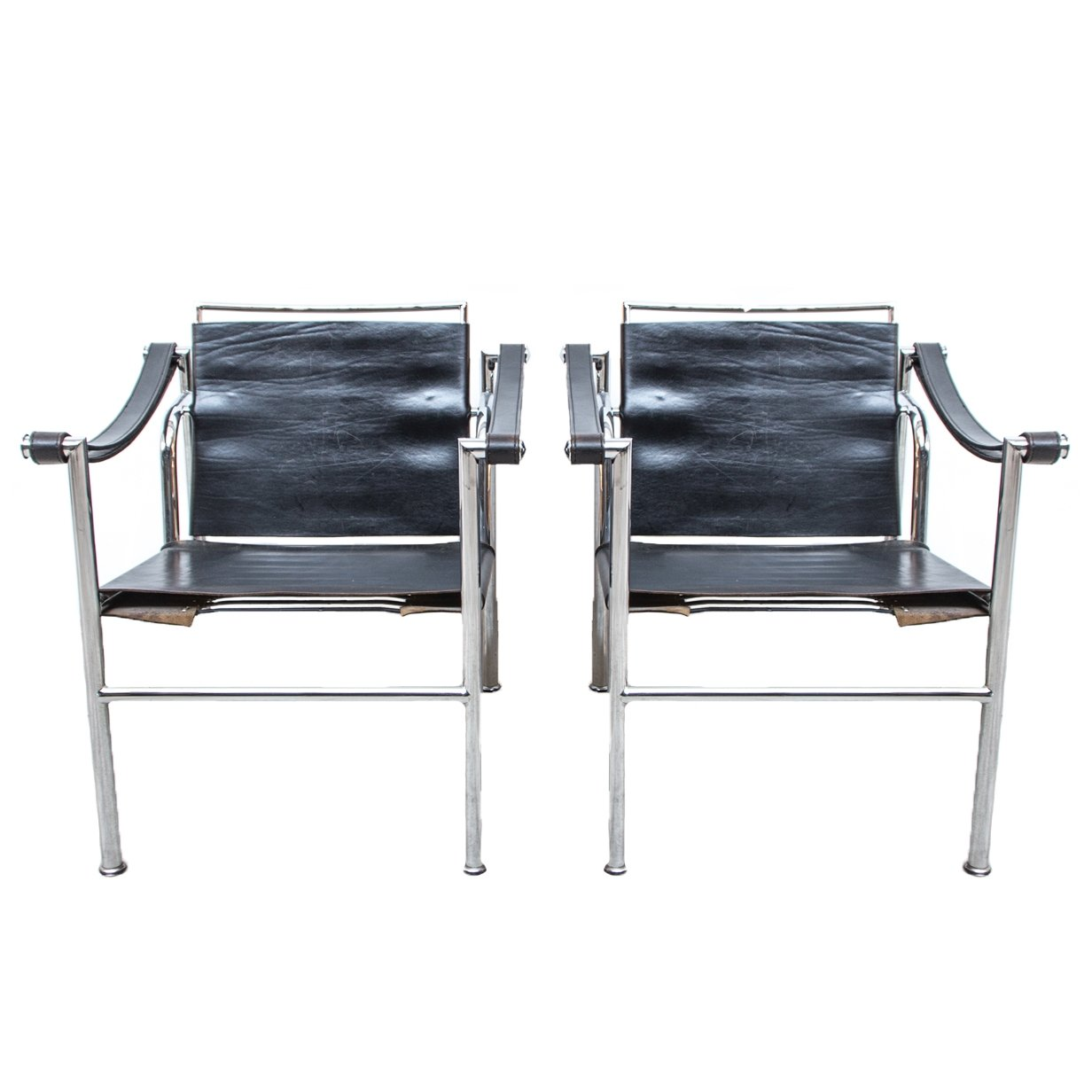 Pair Of LC 1 Chairs By Le Corbusier