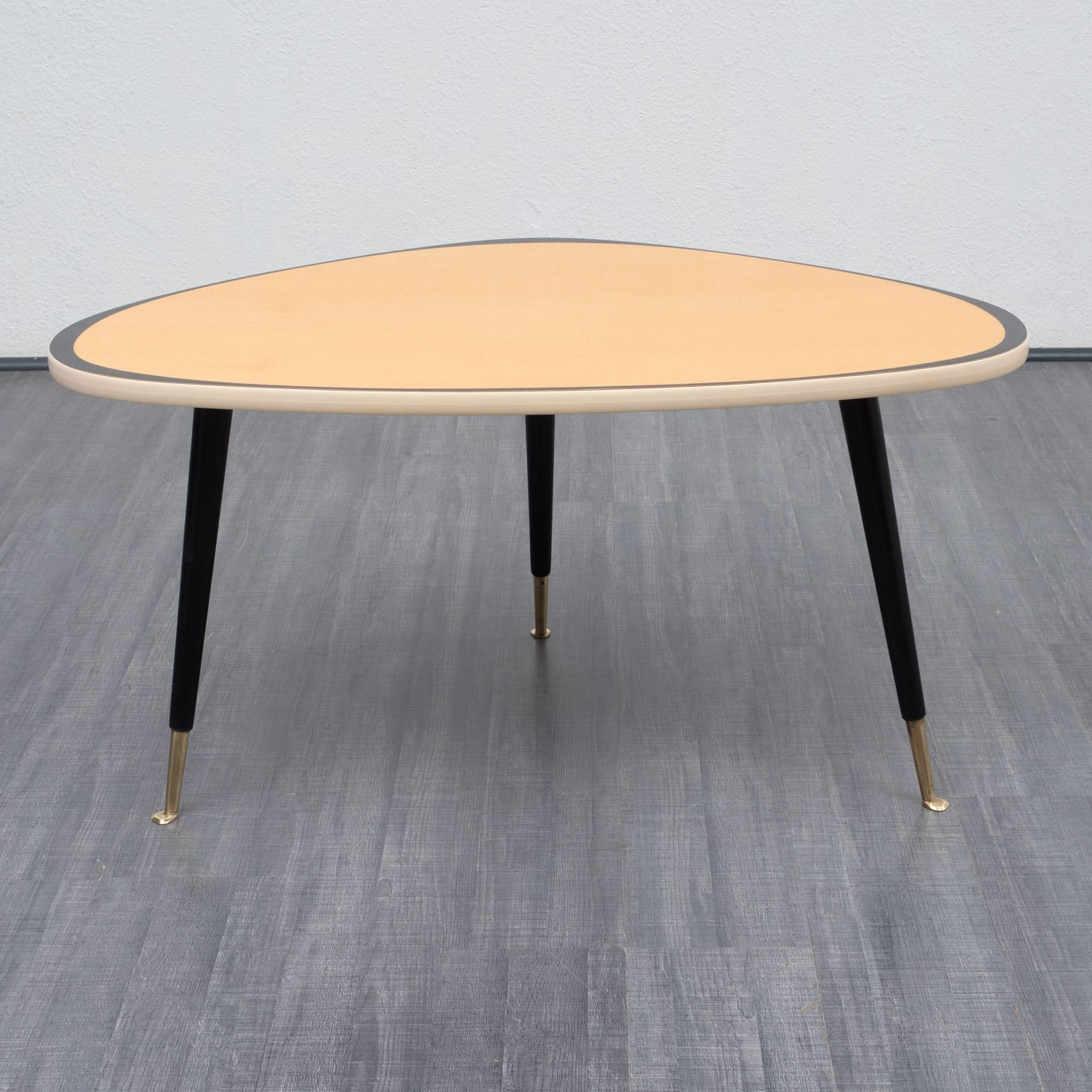 1950S Kidney Shaped Coffee Table