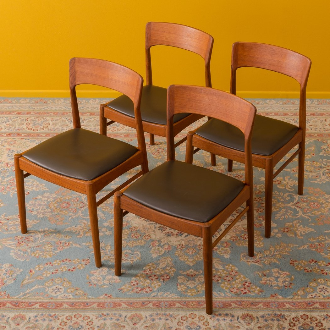 Danish Dining Chairs By Ks Møbler From The 1960s Set Of 4