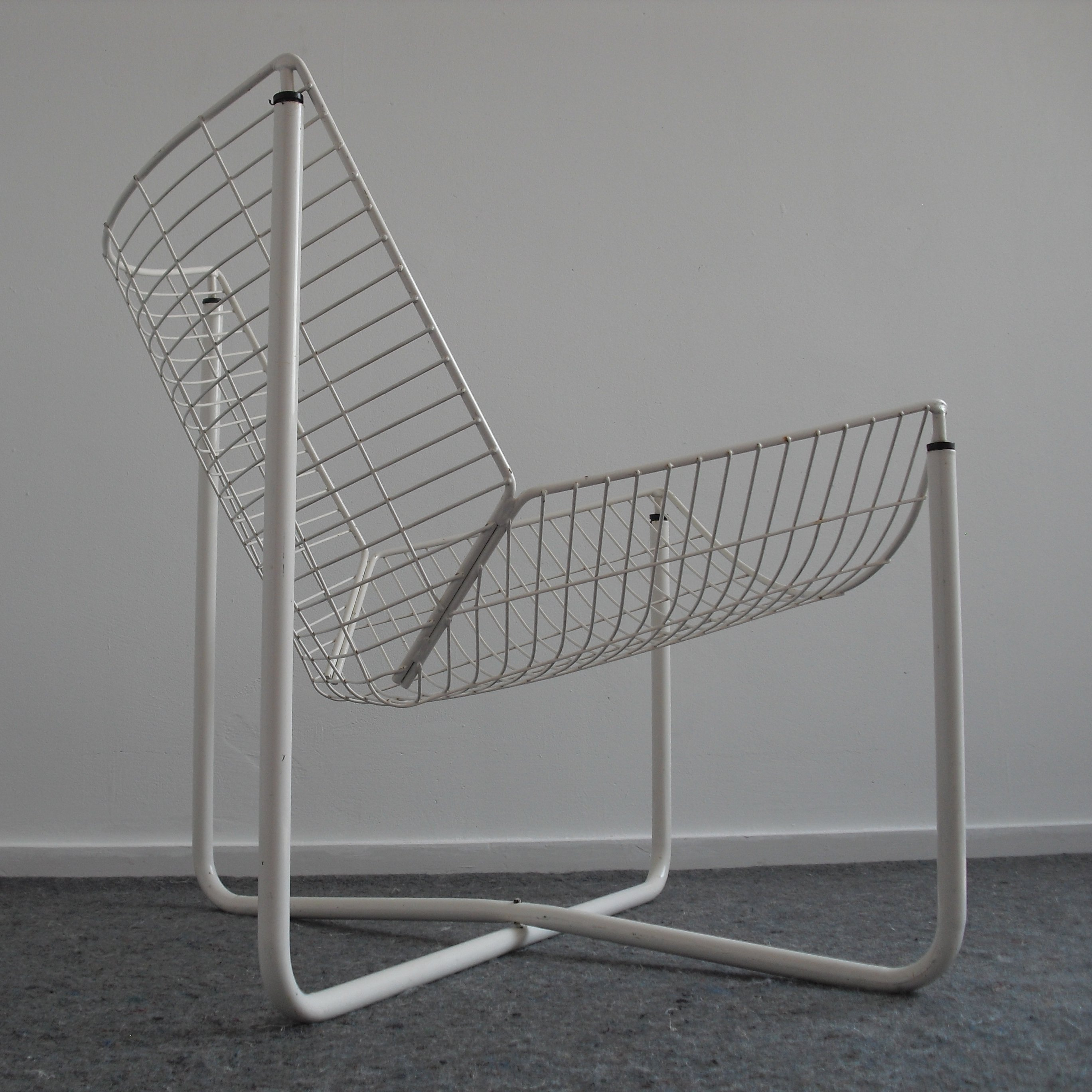Jarpen Wire Lounge Chair By Niels Gammelgaard For Ikea, 1980