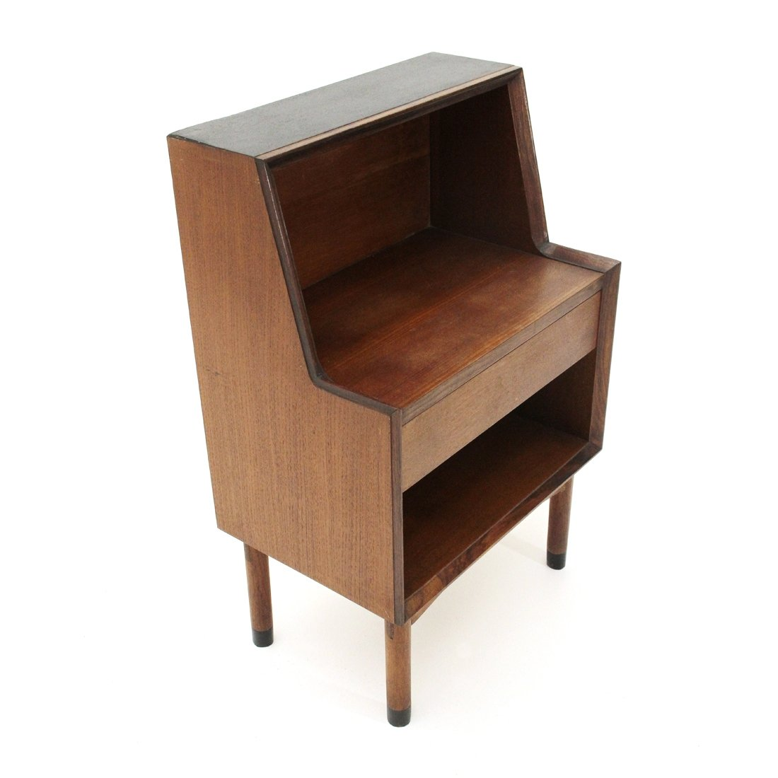 Picture of: Italian Mid Century Teak Bed Side Table 1960s 84179