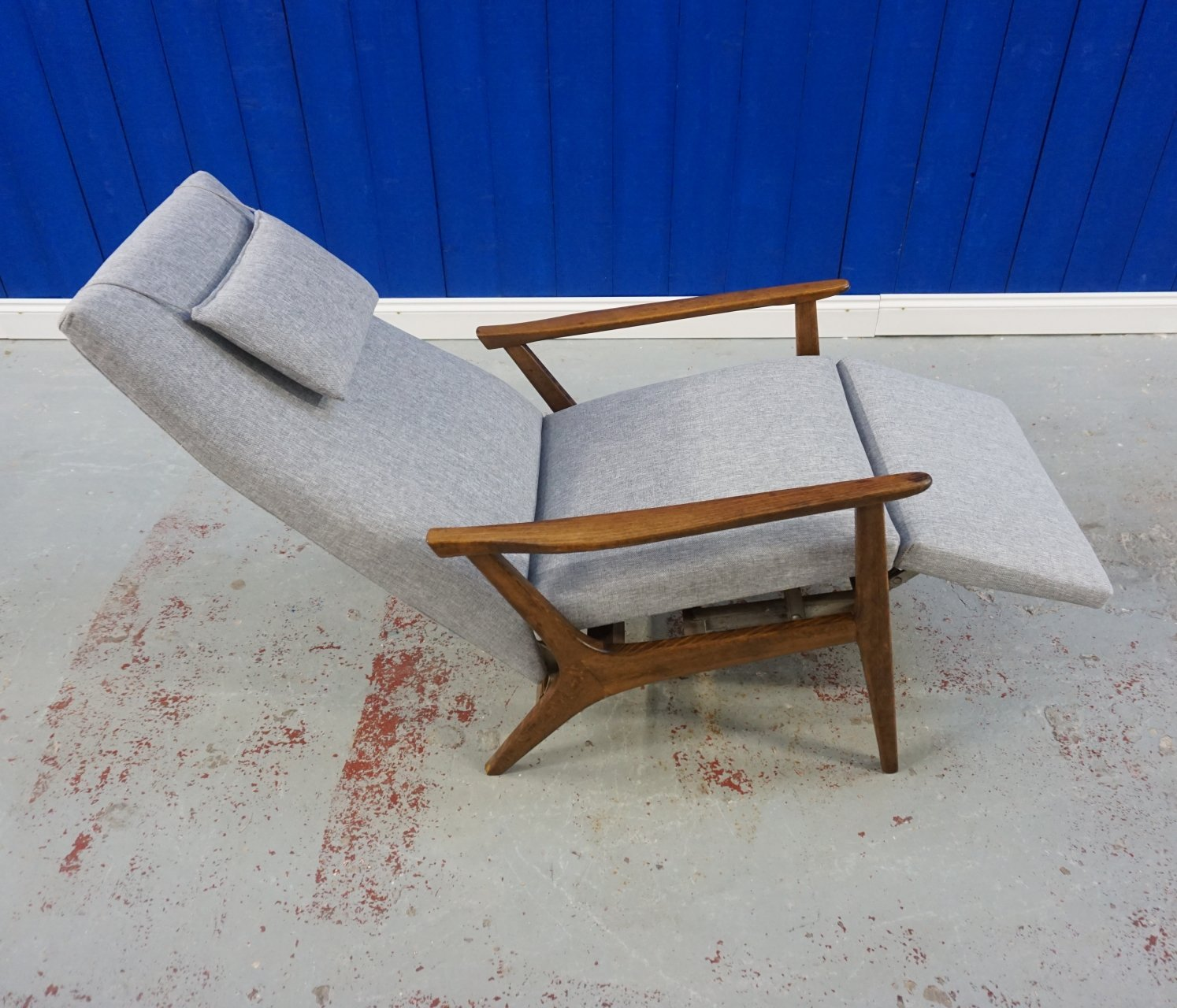 Awesome Mid Century Recliner Armchair From 1960S 84560 Short Links Chair Design For Home Short Linksinfo