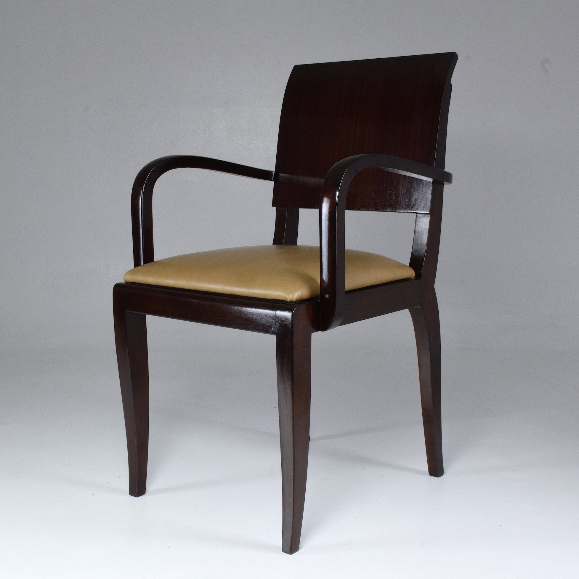 French Vintage Art Deco Chair 1940