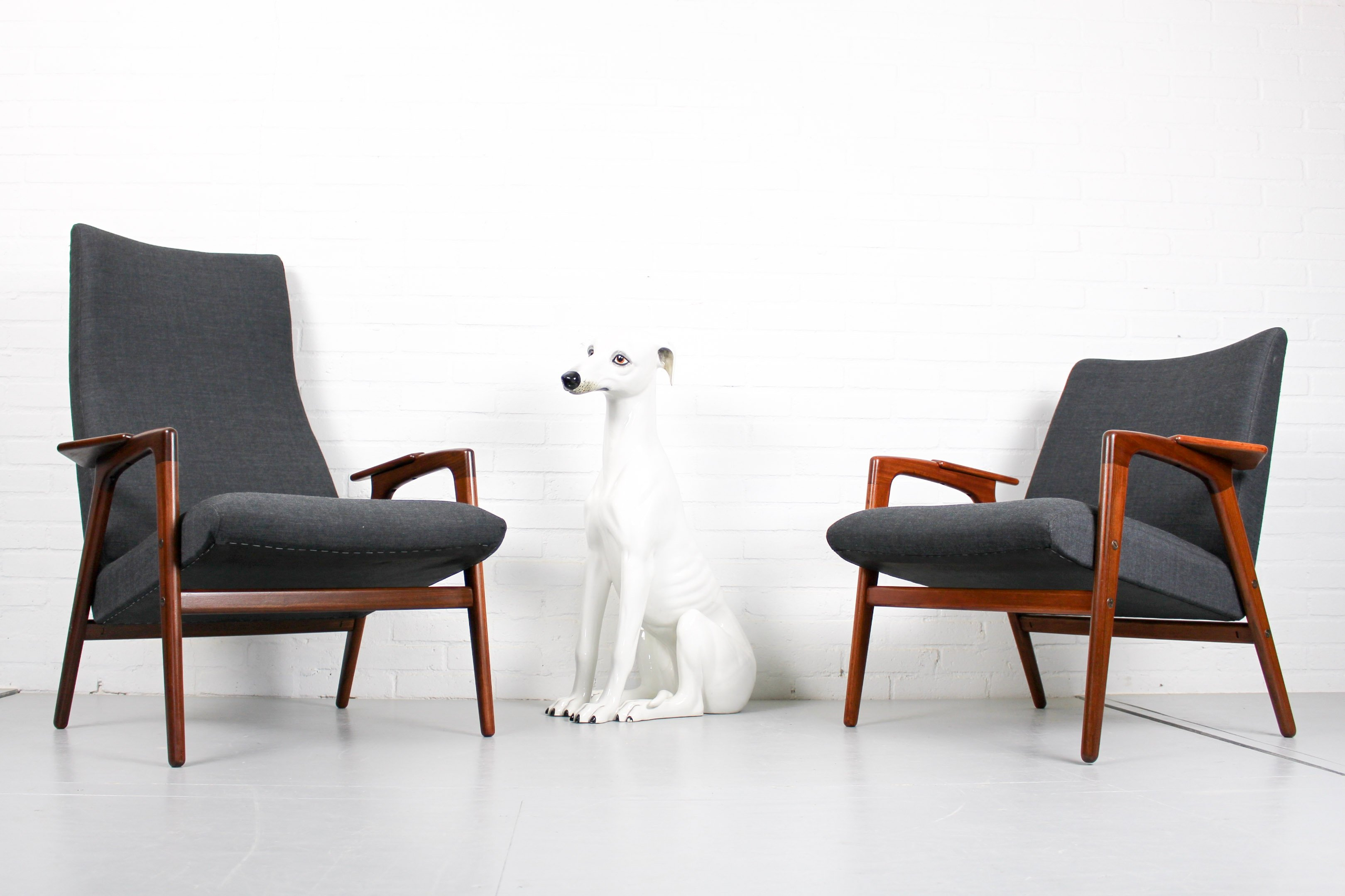 mid century lounge chairs by yngve ekstrom for pastoe 1960s