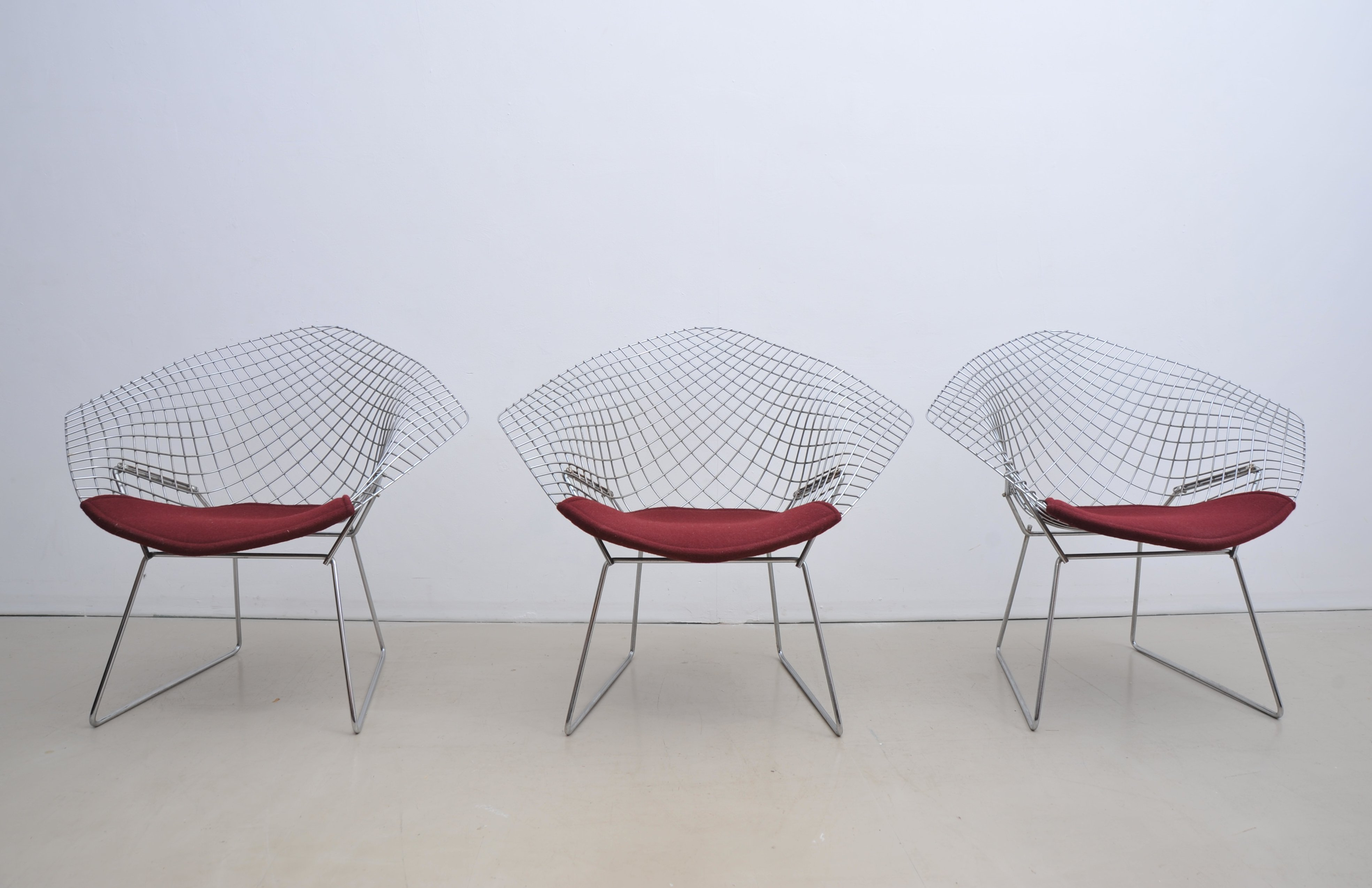 Groovy 5 X Diamond Lounge Chair By Harry Bertoia For Knoll Alphanode Cool Chair Designs And Ideas Alphanodeonline