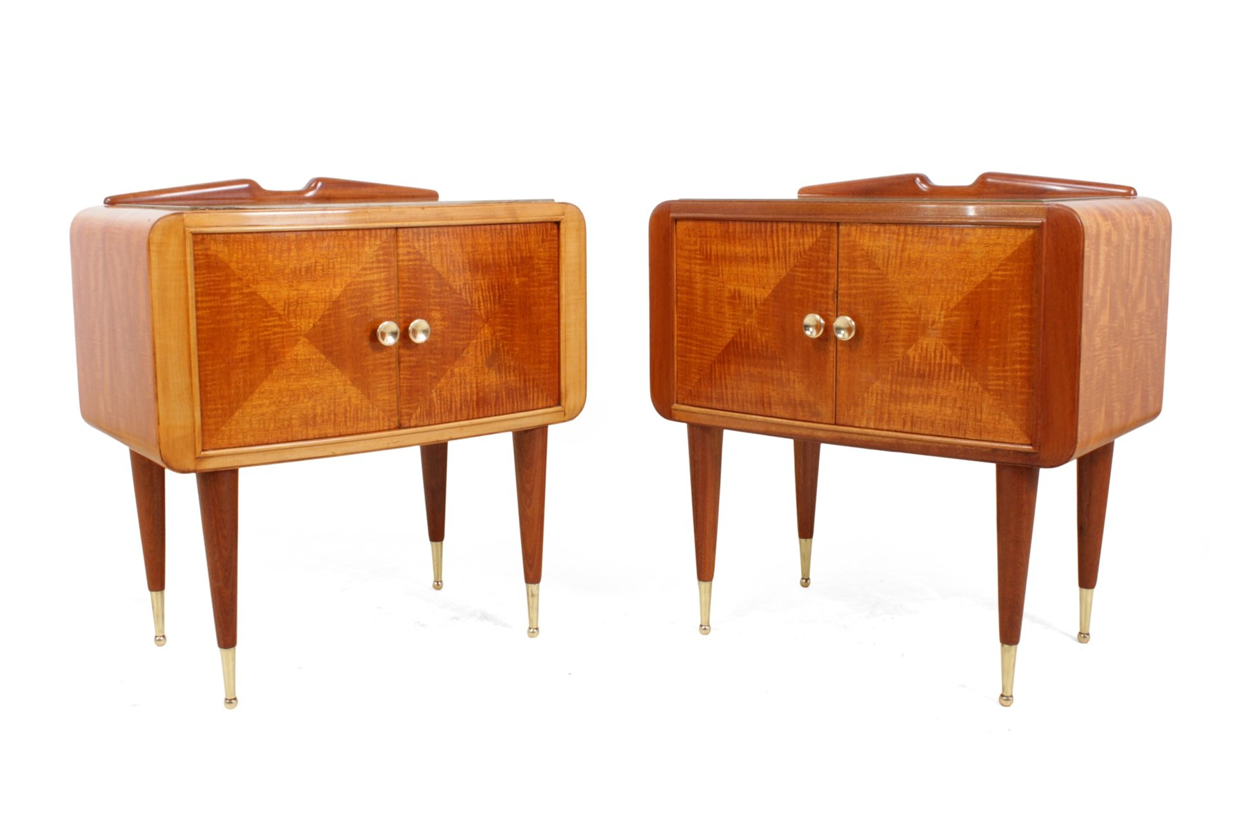 Picture of: Pair Of Italian Mid Century Bedside Cabinets 87962