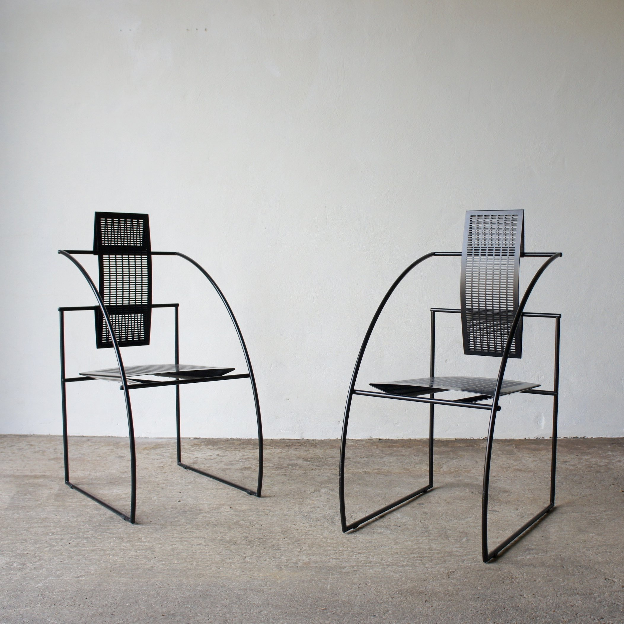 A Pair Of Quinta Chairs By Mario Botta For Alias 88506