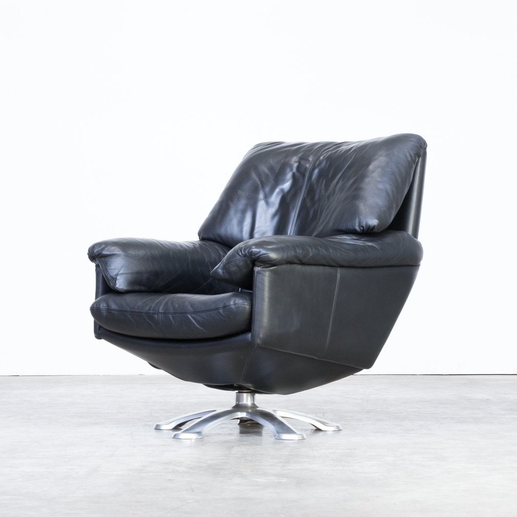 Miraculous Axel Enthoven Model 200 Black Leather Lounge Chair For Pabps2019 Chair Design Images Pabps2019Com