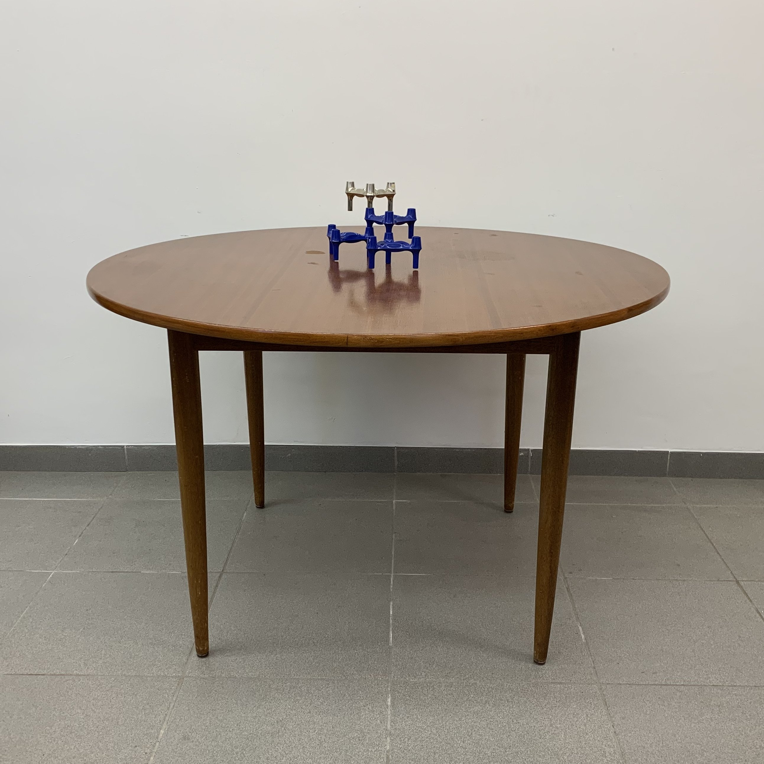 Vintage Formule Meubelen Round Dining Table 1960 S 91677