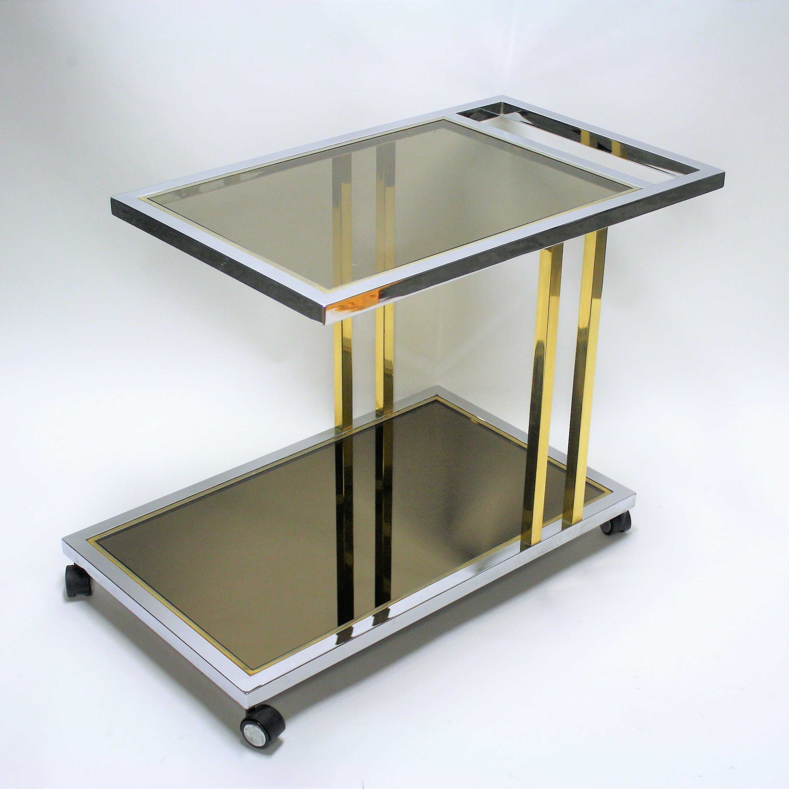 Vintage drinks trolley by Belgochrom, 1970s | #91901