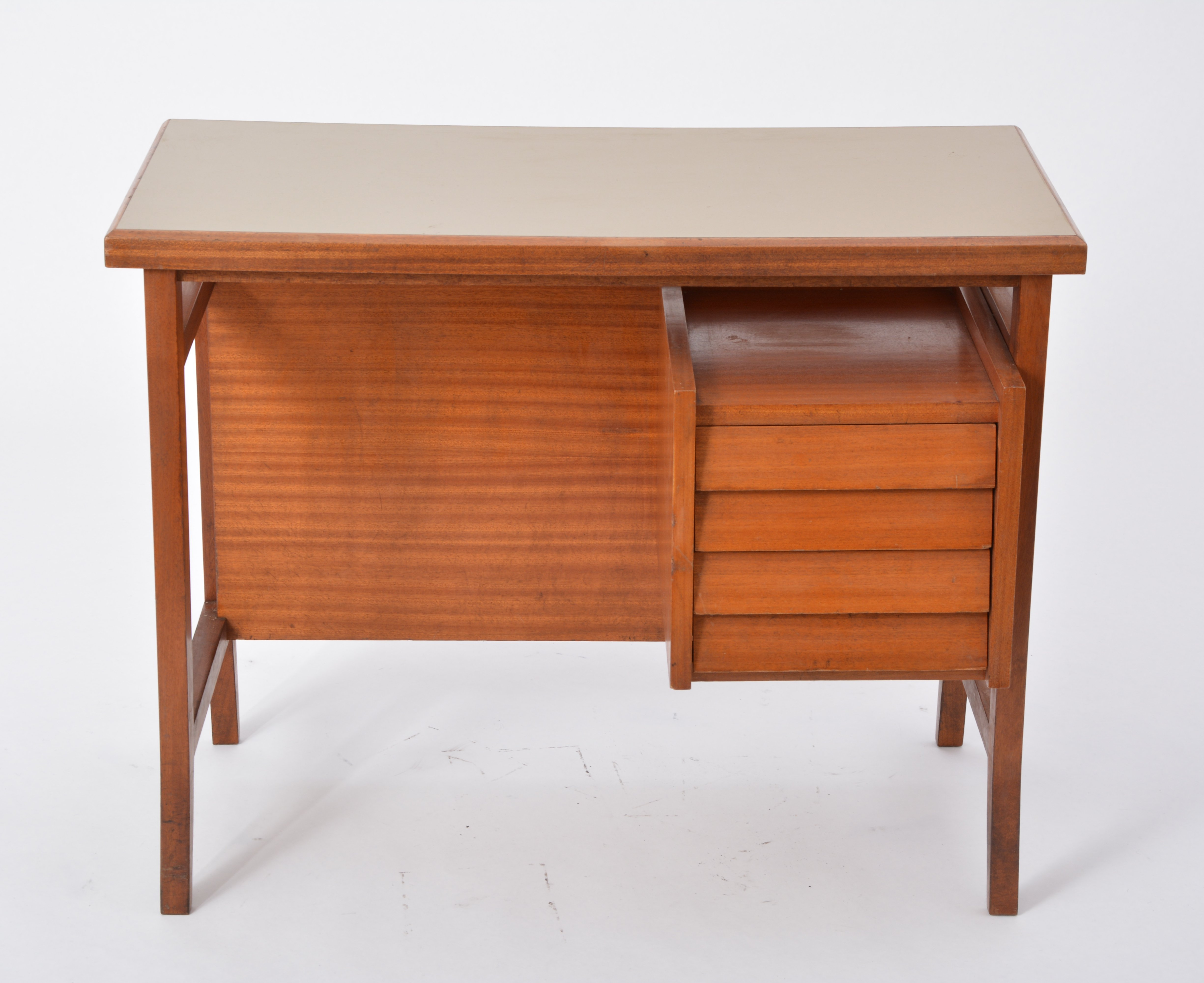 Small writing desk by gio ponti for schirolli italy 1960s