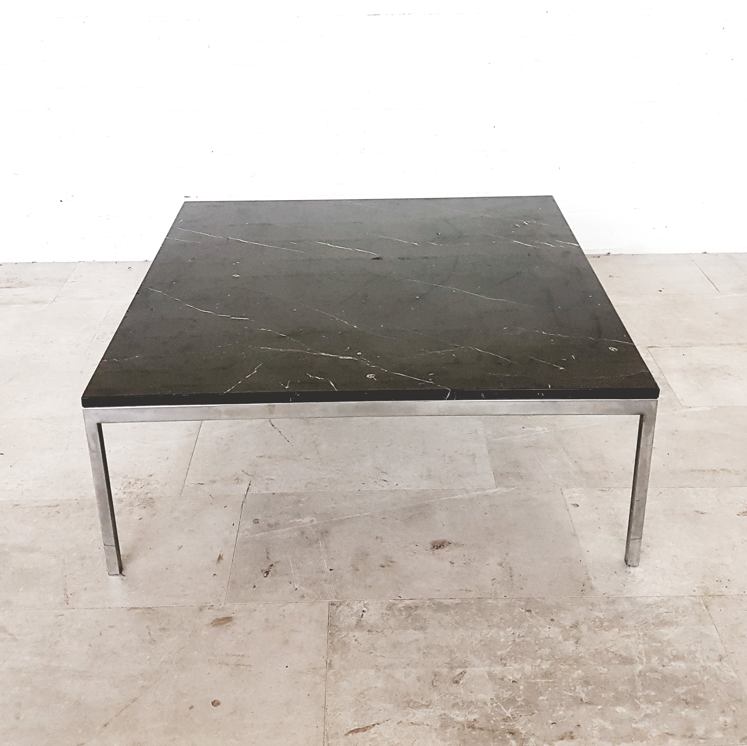 Knoll Marble Coffee Table: Black Marble Coffee Table By Florence Knoll For Knoll