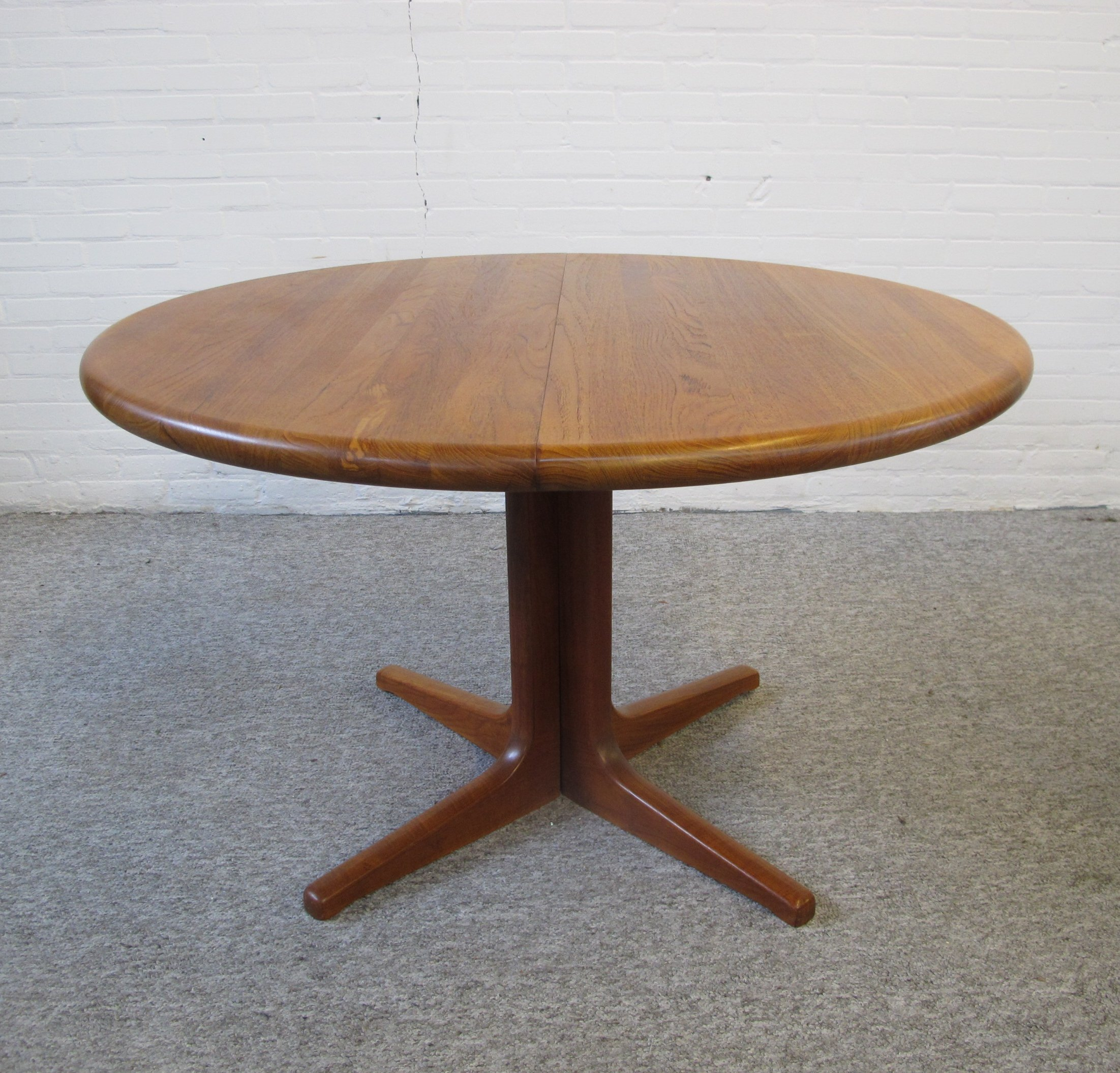 Midcentury Extendable Dining Table By Glostrup Denmark 1960s 94588