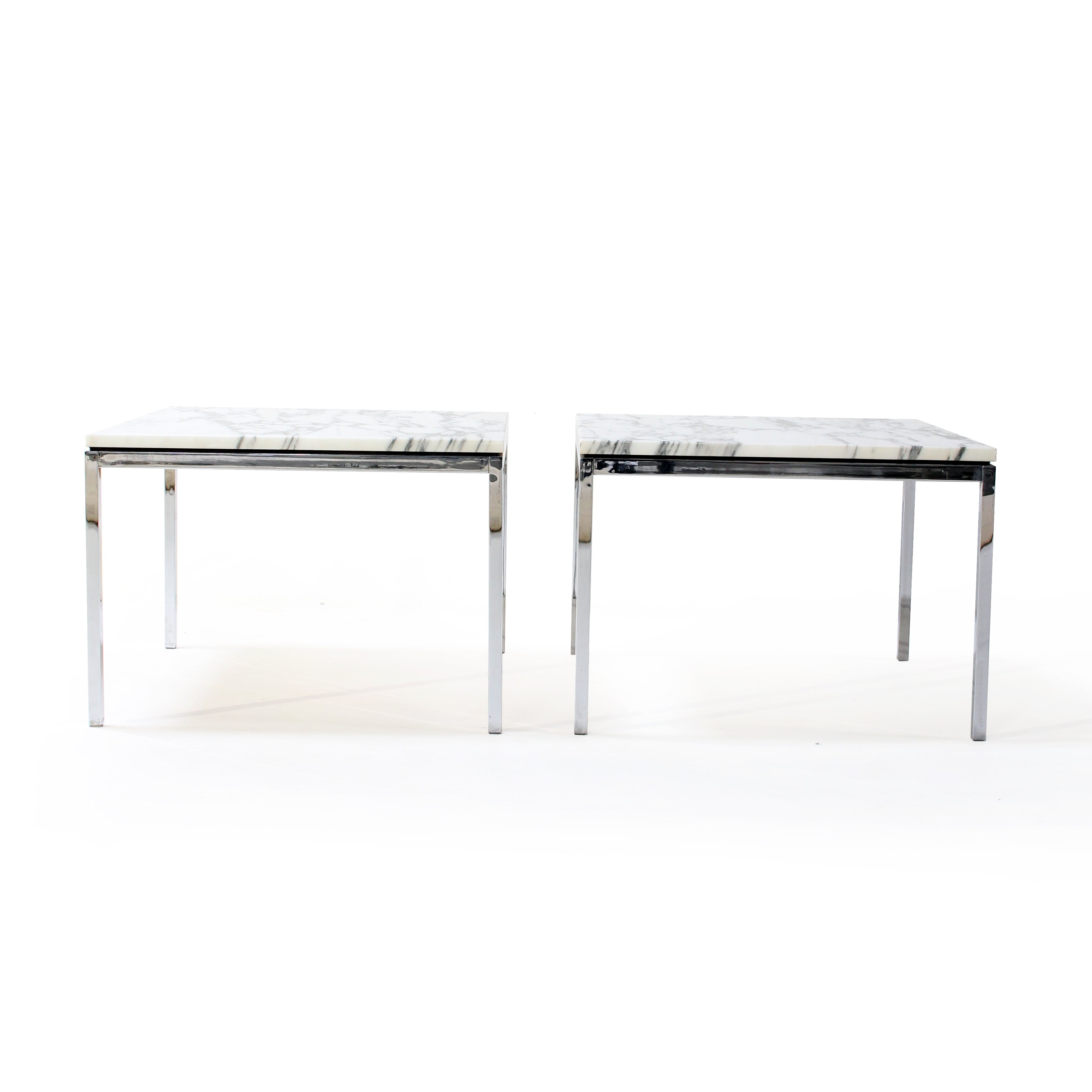 Pair Of Side Tables By Florence Knoll For Knoll 1960s 94812 [ 3456 x 3456 Pixel ]