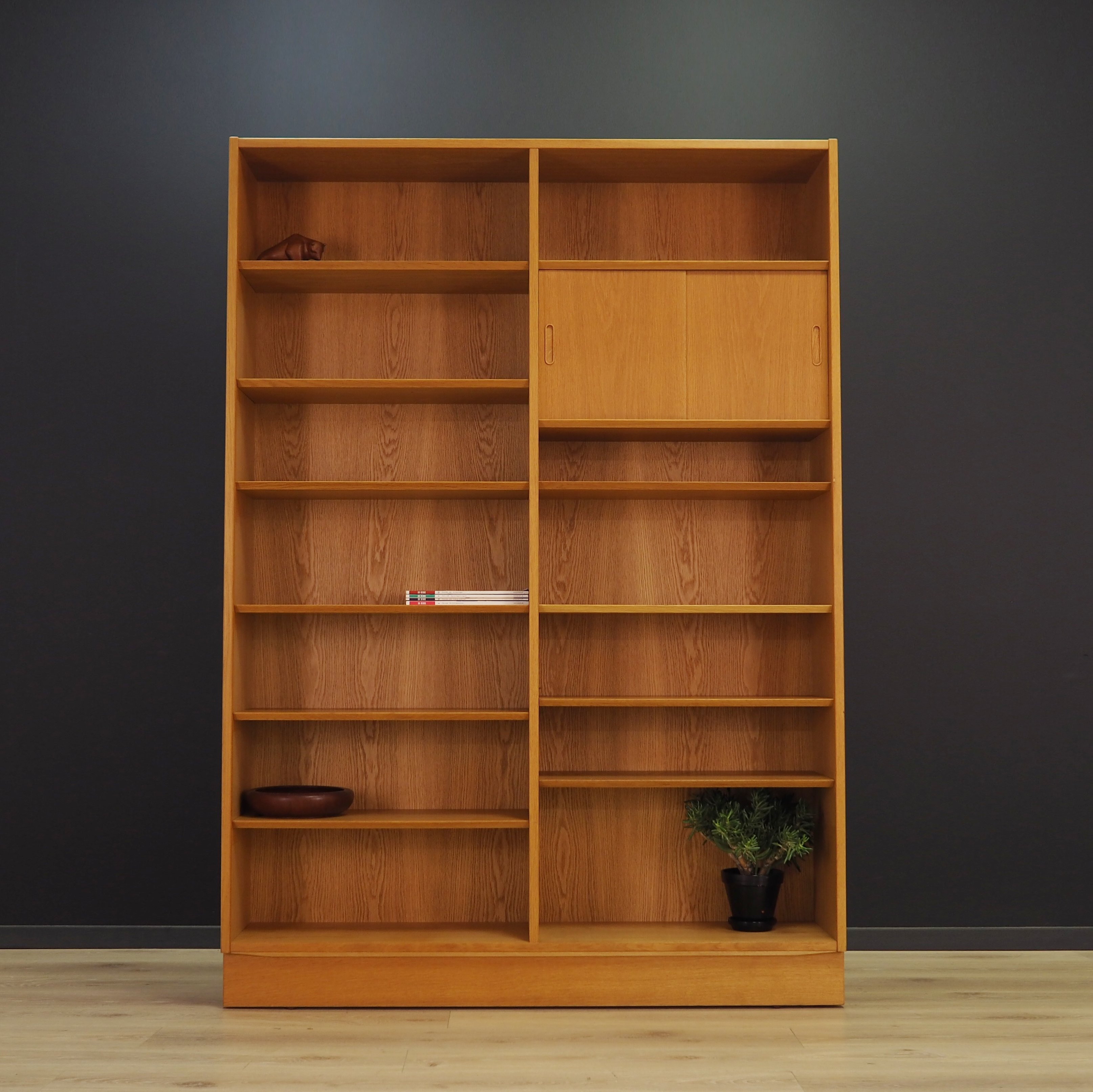 Mid Century Bookcase In Ash By Poul Hundevad 94965