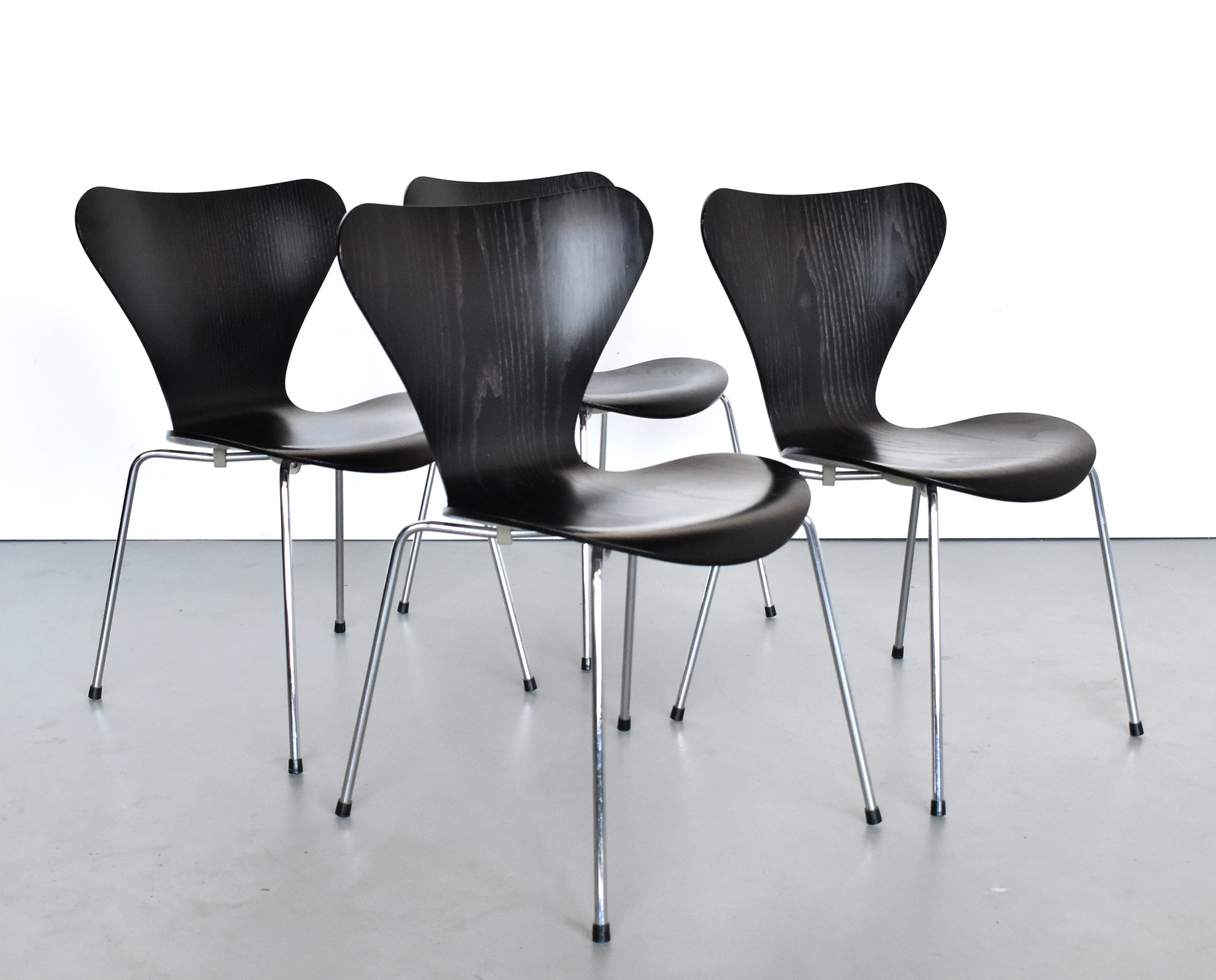 Chairs 7 By Of Hansen Set Arne Jacobsen Series Dining Fritz 4 For