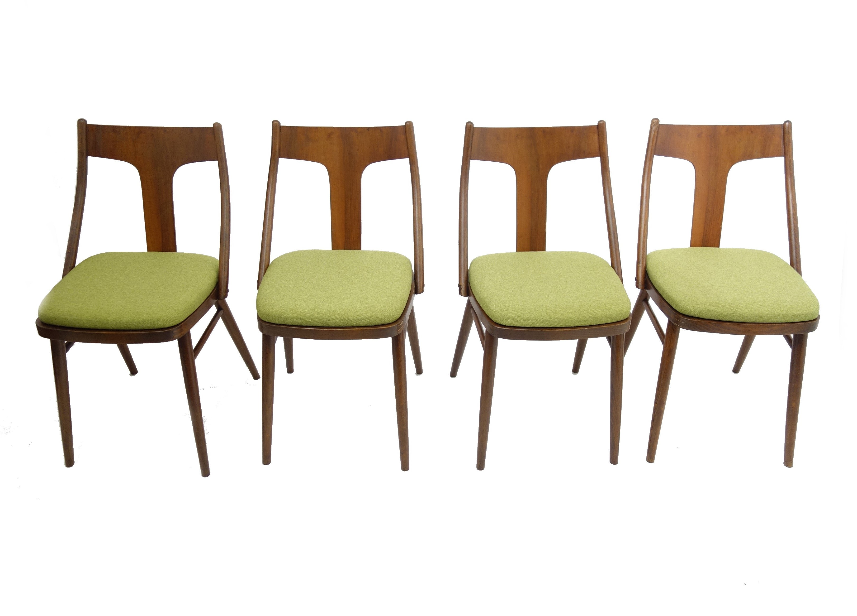 Remarkable Set Of 4 Vintage Dining Chairs 1960S Alphanode Cool Chair Designs And Ideas Alphanodeonline