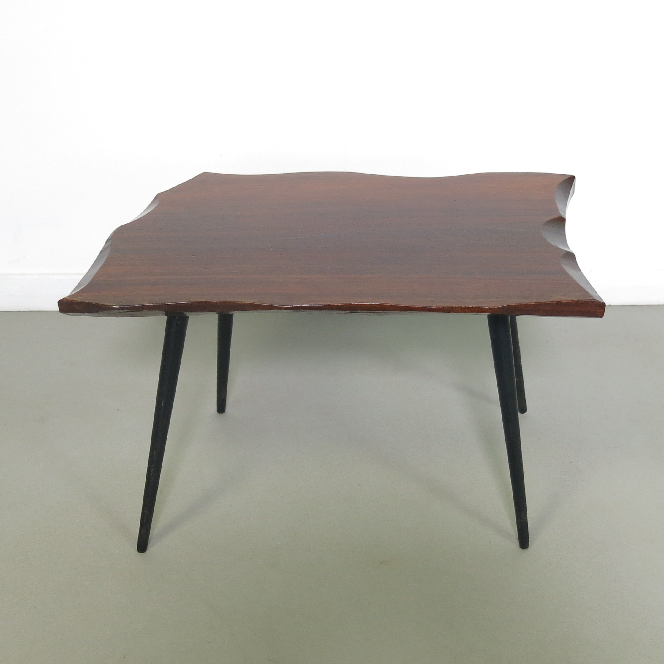 Small Wooden Side Table 1960s