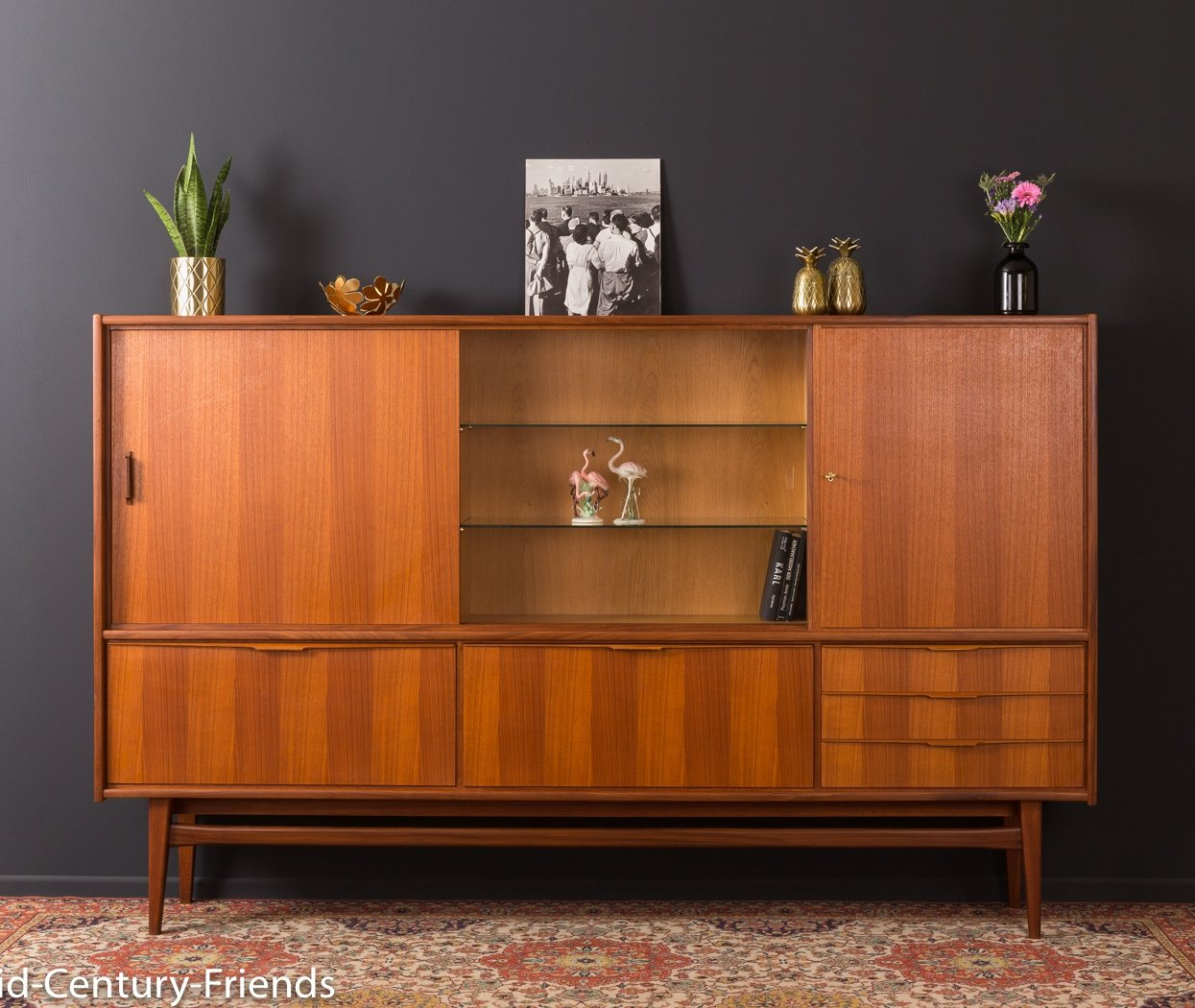 German Buffet By Bartel Premium Möbel From The 1960s 97590