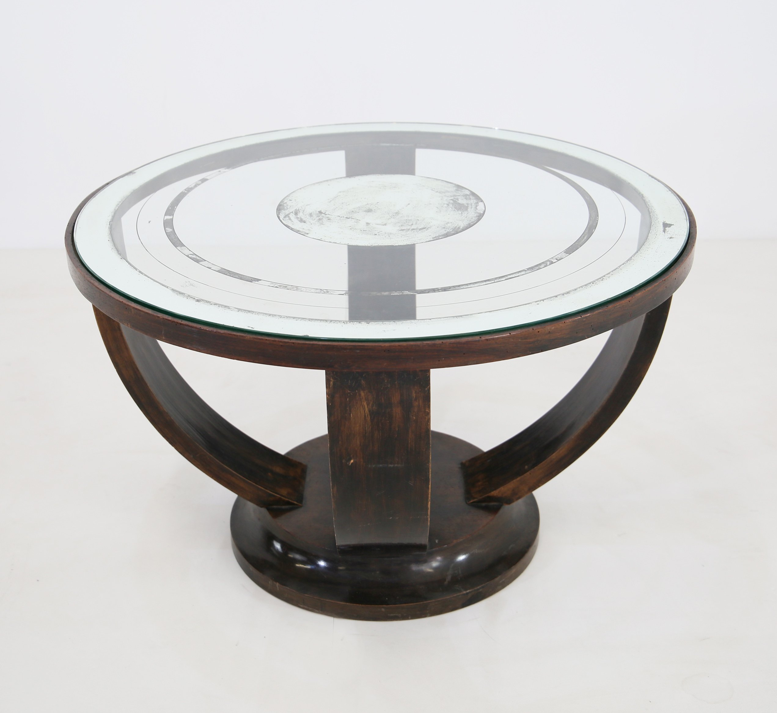 Prime Elegant French Art Deco Coffee Table With Glass Mirrors Home Remodeling Inspirations Basidirectenergyitoicom