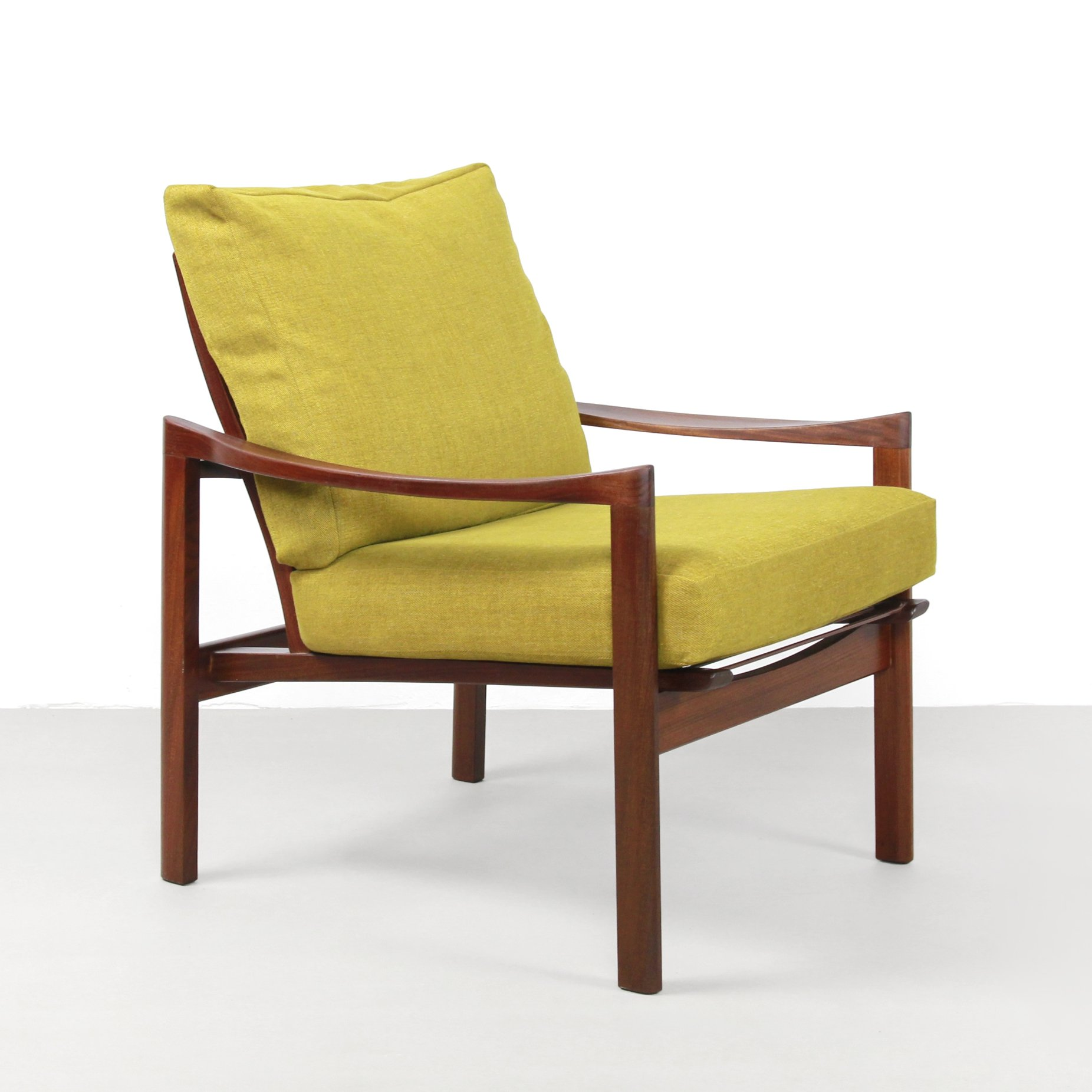 Teak Danish Design Armchair 1960s 98737