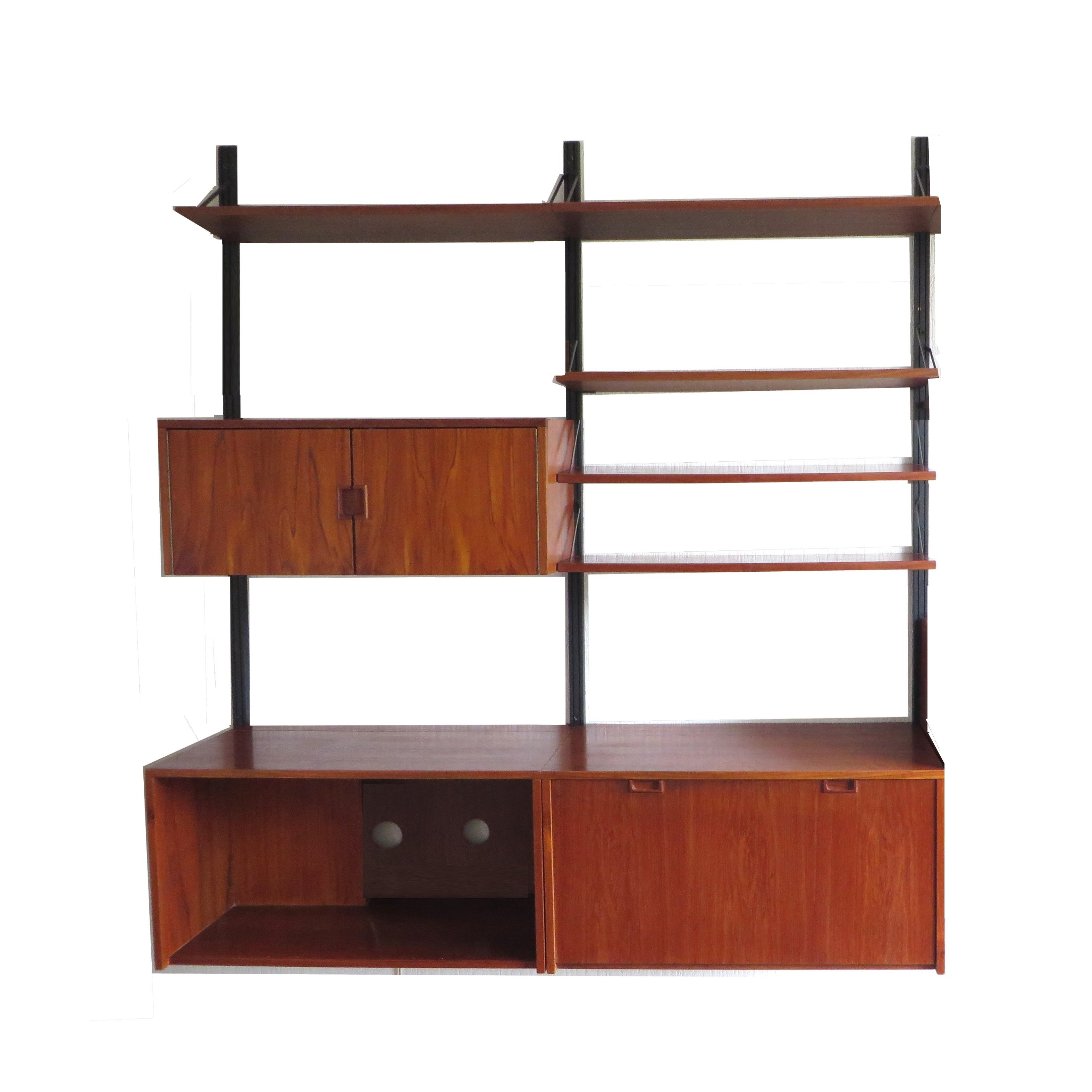 best service 01987 1af2b Vintage wall unit / shelving unit from the 60s