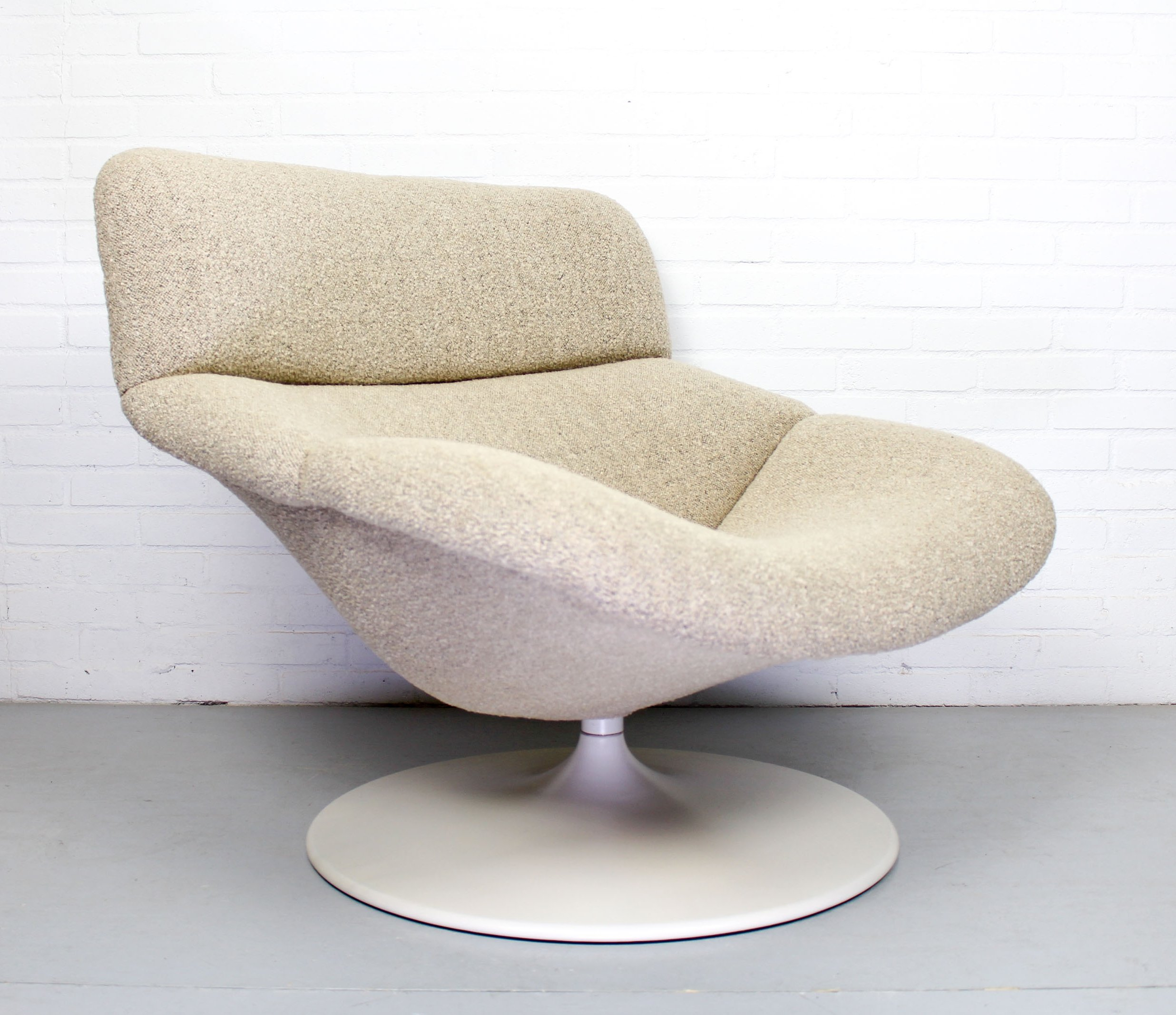 Terrific F518 Lounge Swivel Chair By Geoffrey Harcourt For Artifort Creativecarmelina Interior Chair Design Creativecarmelinacom