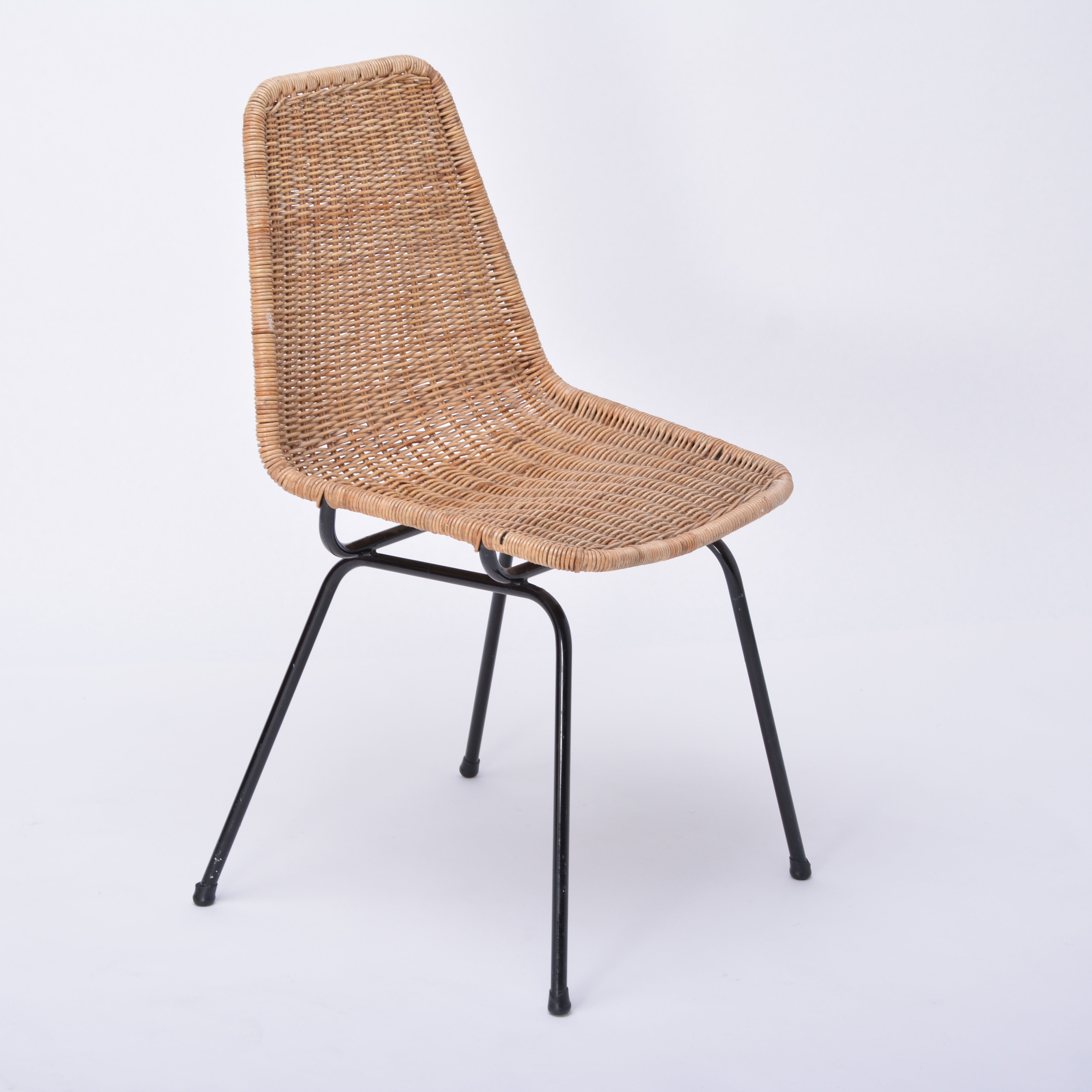 Excellent Vintage Rattan Italia 100 Dining Chair By Rotanhuis Ocoug Best Dining Table And Chair Ideas Images Ocougorg